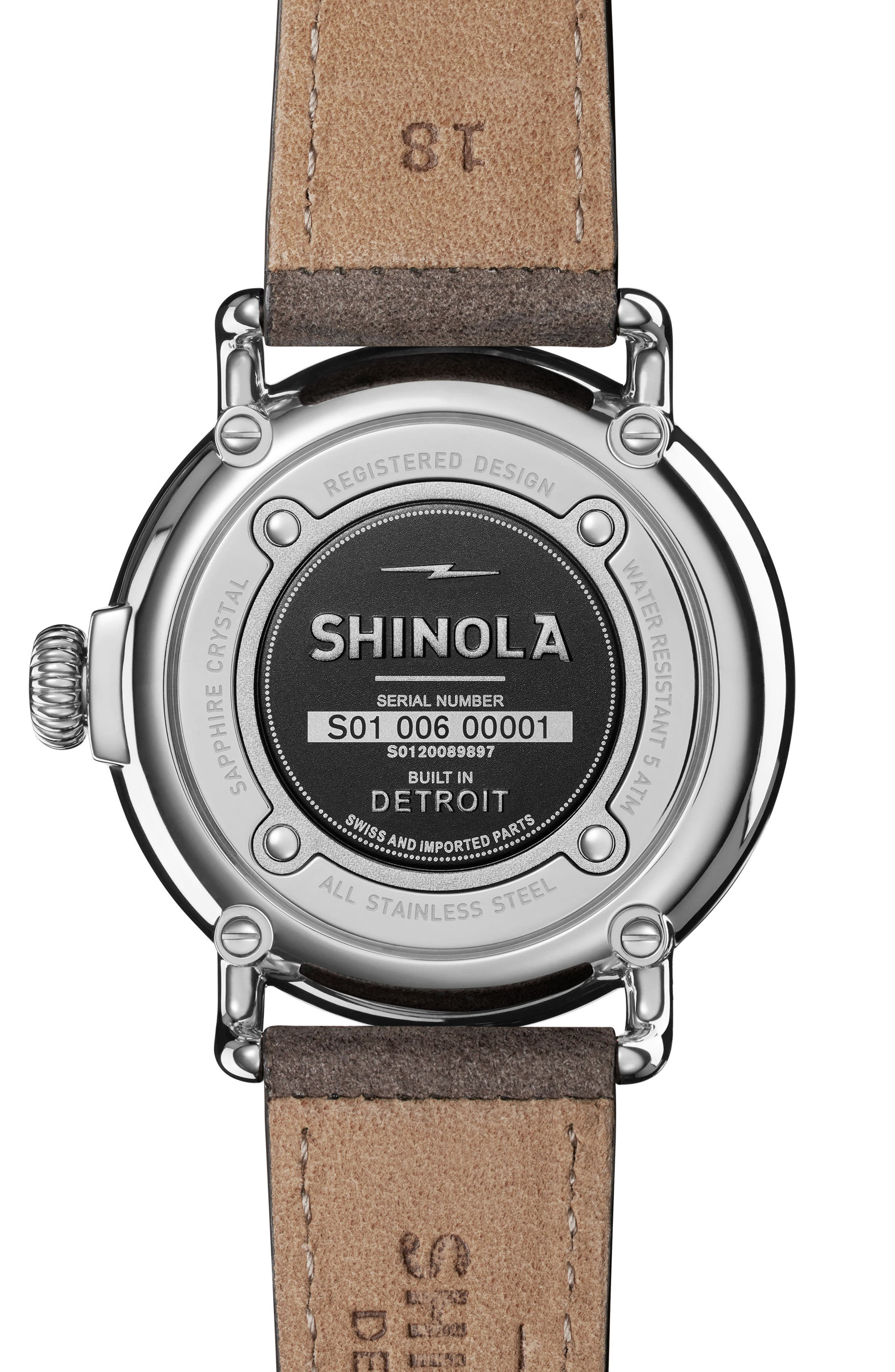 The Runwell Leather Strap Watch, 36mm,                             Alternate thumbnail 2, color,                             020