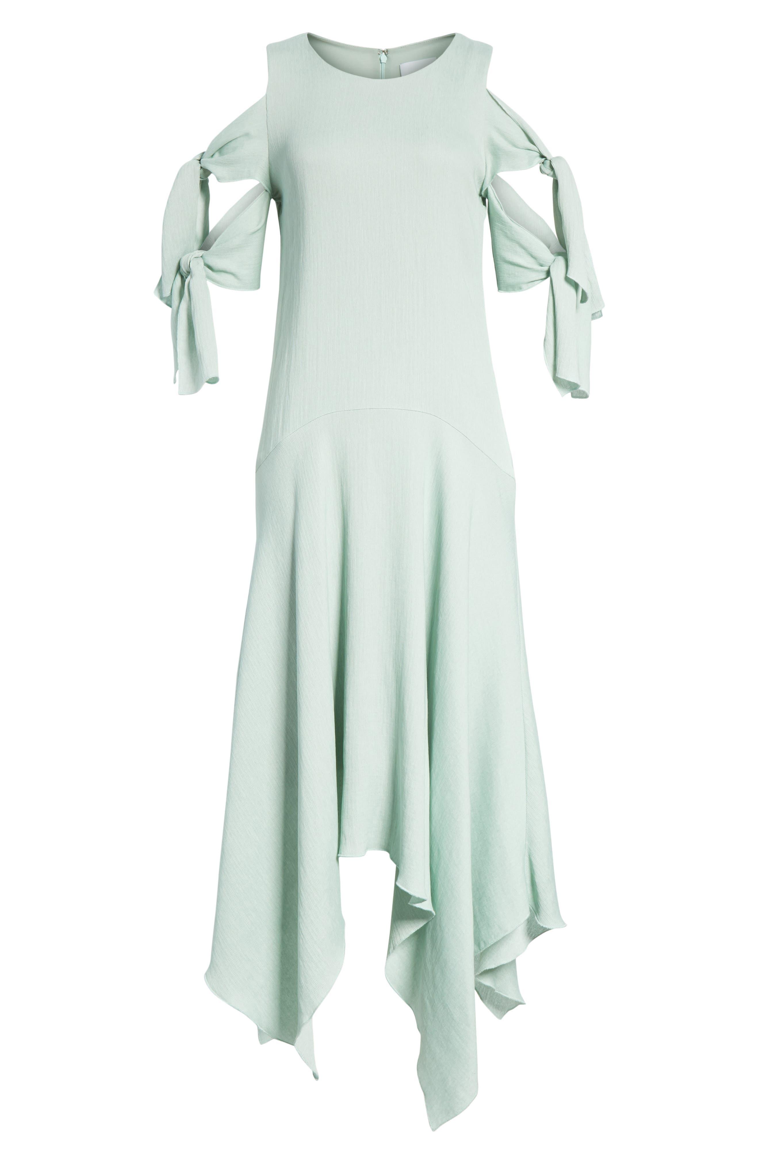 Prose & Poetry Vivianna Drop Waist Midi Dress,                             Alternate thumbnail 6, color,                             332