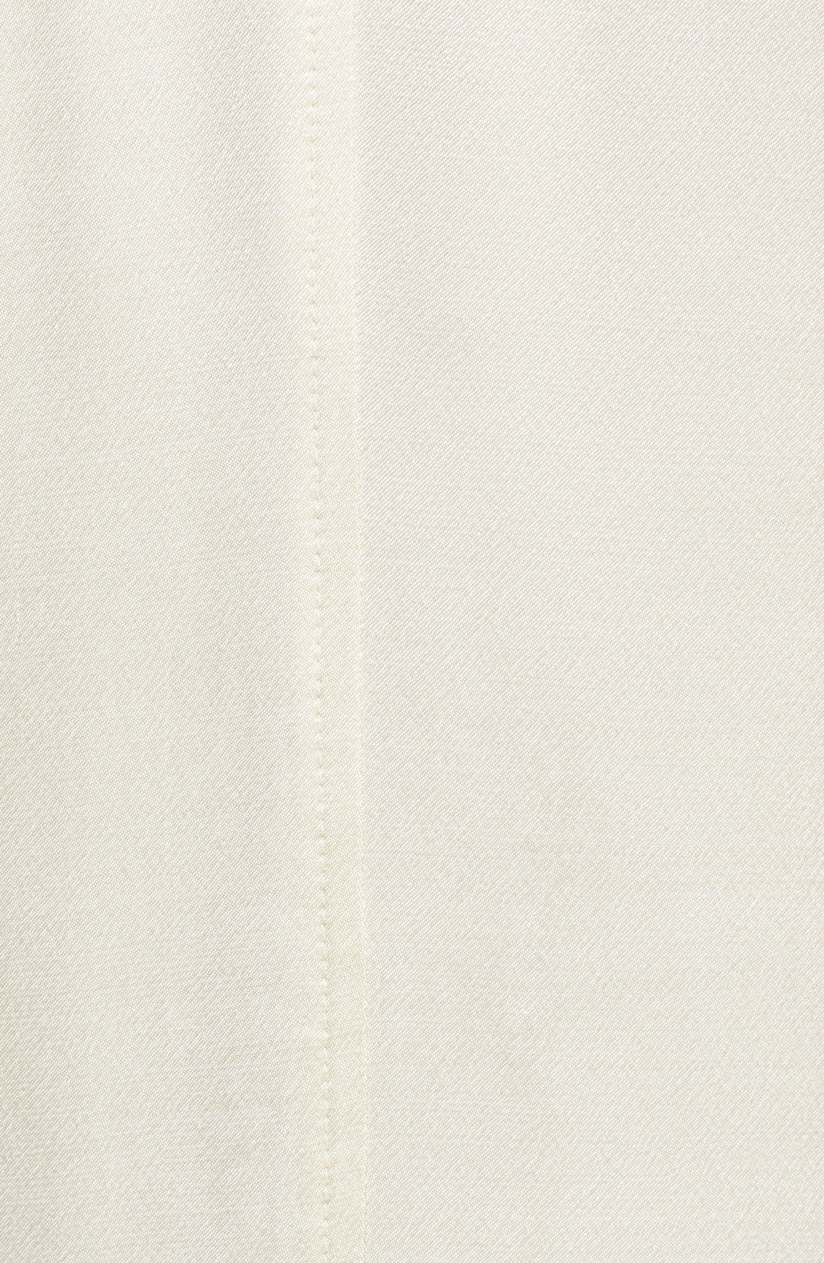 SOMETHING NAVY,                             Grand Lapel Coat,                             Alternate thumbnail 7, color,                             IVORY BIRCH