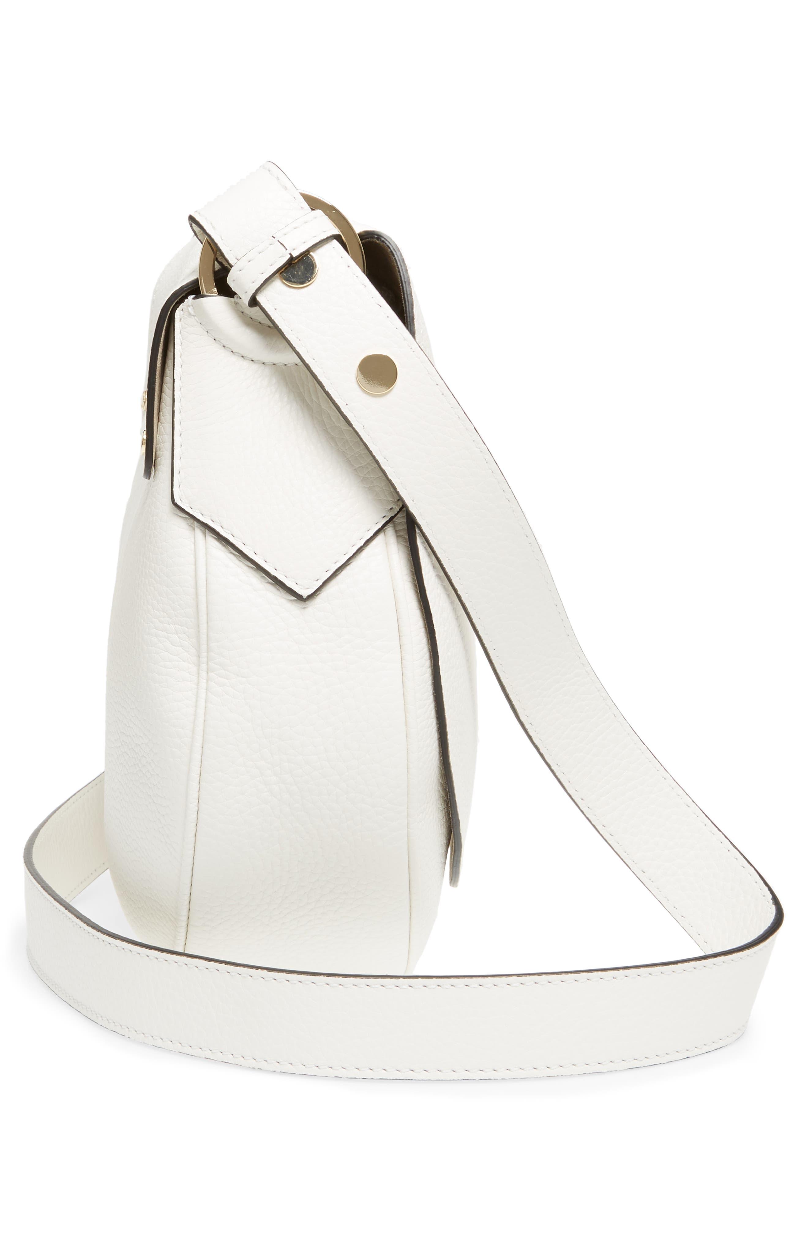 Small Valeria Leather Crossbody Bag,                             Alternate thumbnail 14, color,