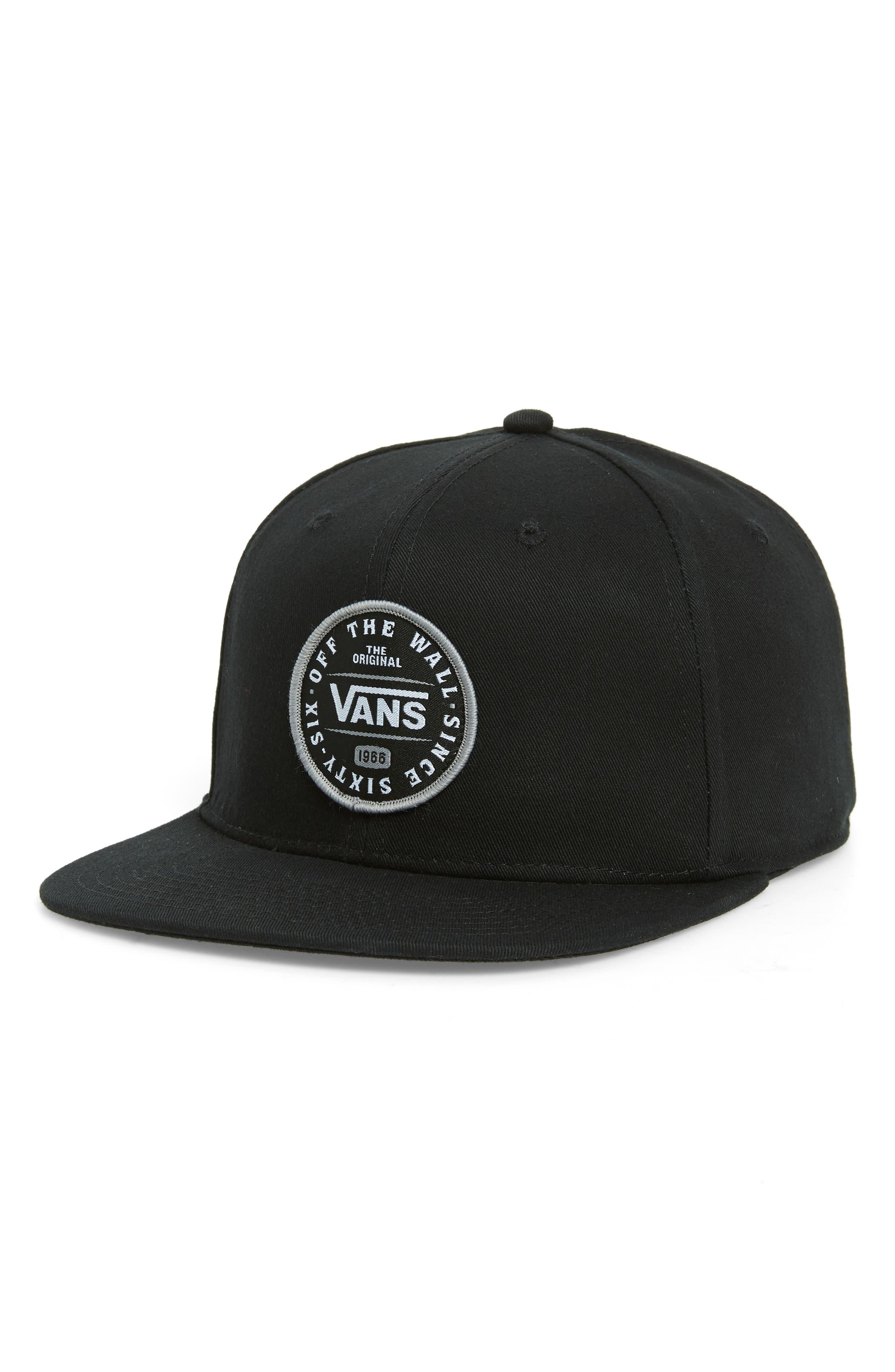 Original 66 Snapback Baseball Cap,                         Main,                         color, BLACK
