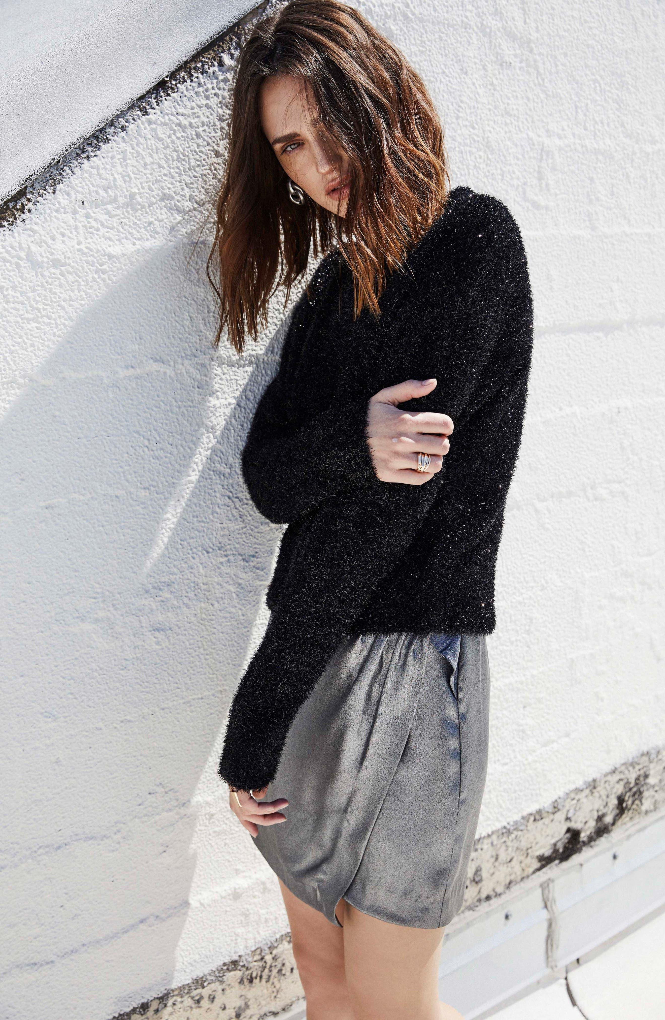 Nell Mini Skirt,                             Alternate thumbnail 5, color,                             030