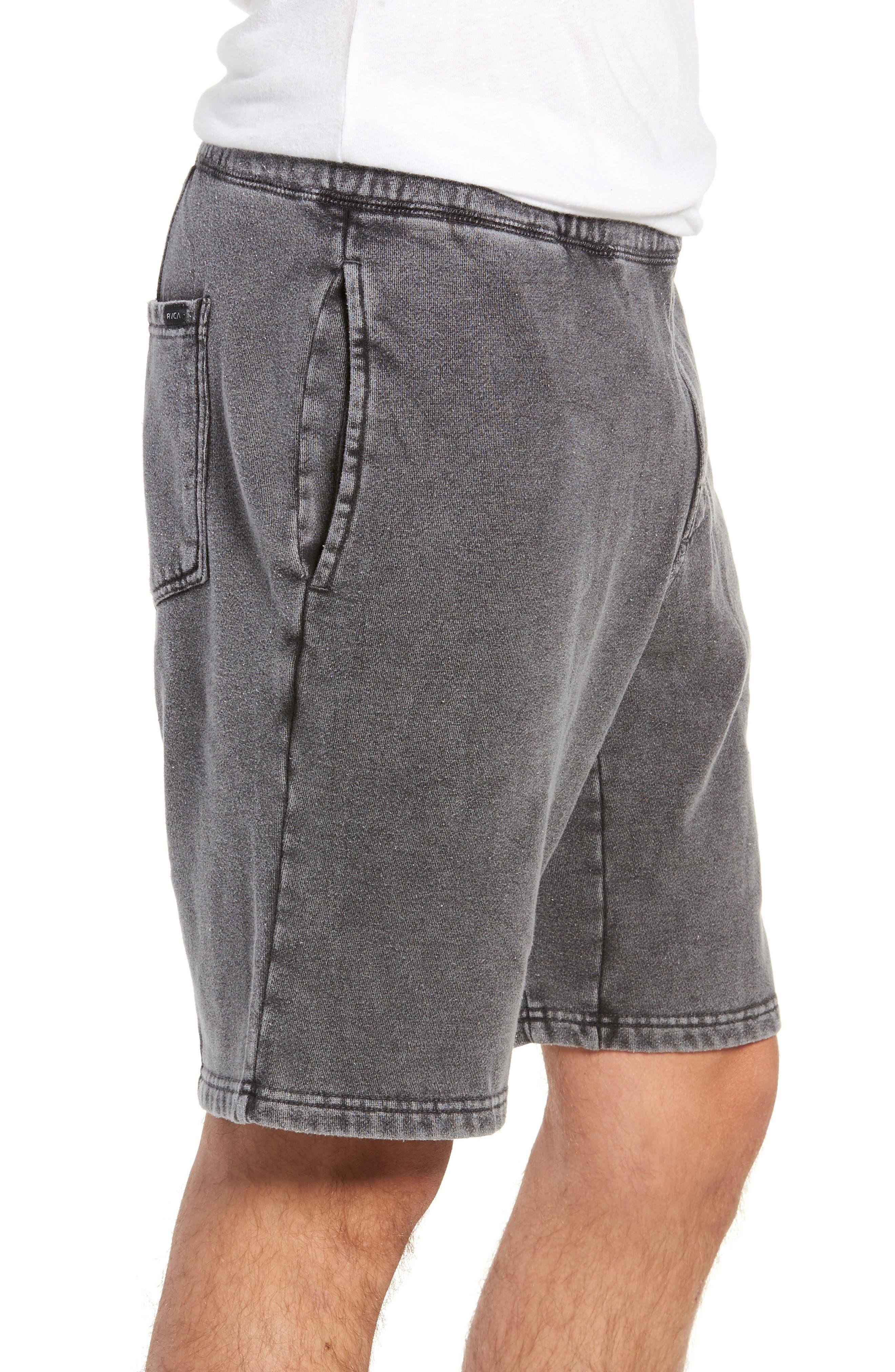 Matador Shorts,                             Alternate thumbnail 3, color,                             RVCA BLACK