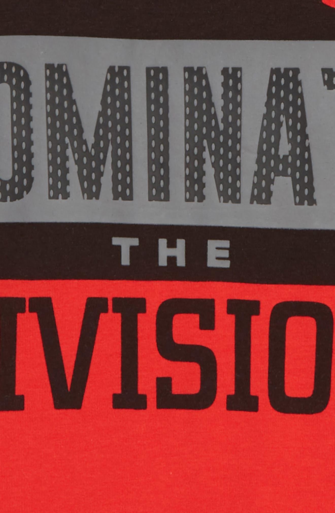 Dominate the Division HeatGear<sup>®</sup> T-Shirt,                             Alternate thumbnail 2, color,                             600
