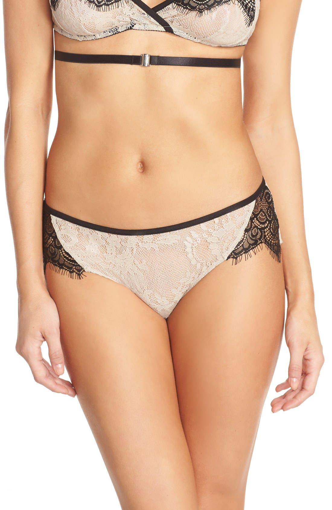 ONLY HEARTS 'Knaughty Knickers' Hipster Briefs, Main, color, 250