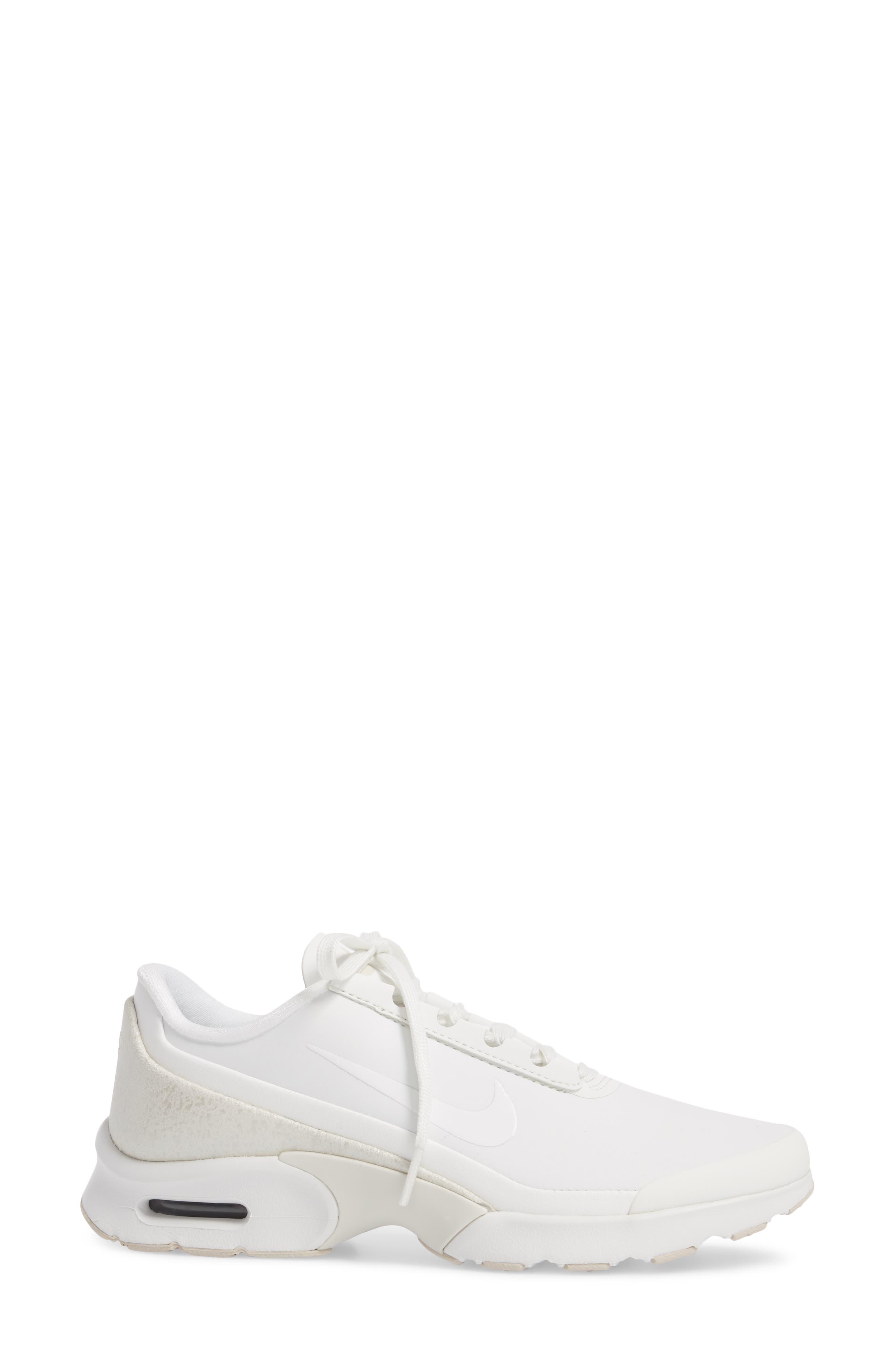 Air Max Jewell Sneaker,                             Alternate thumbnail 3, color,                             100