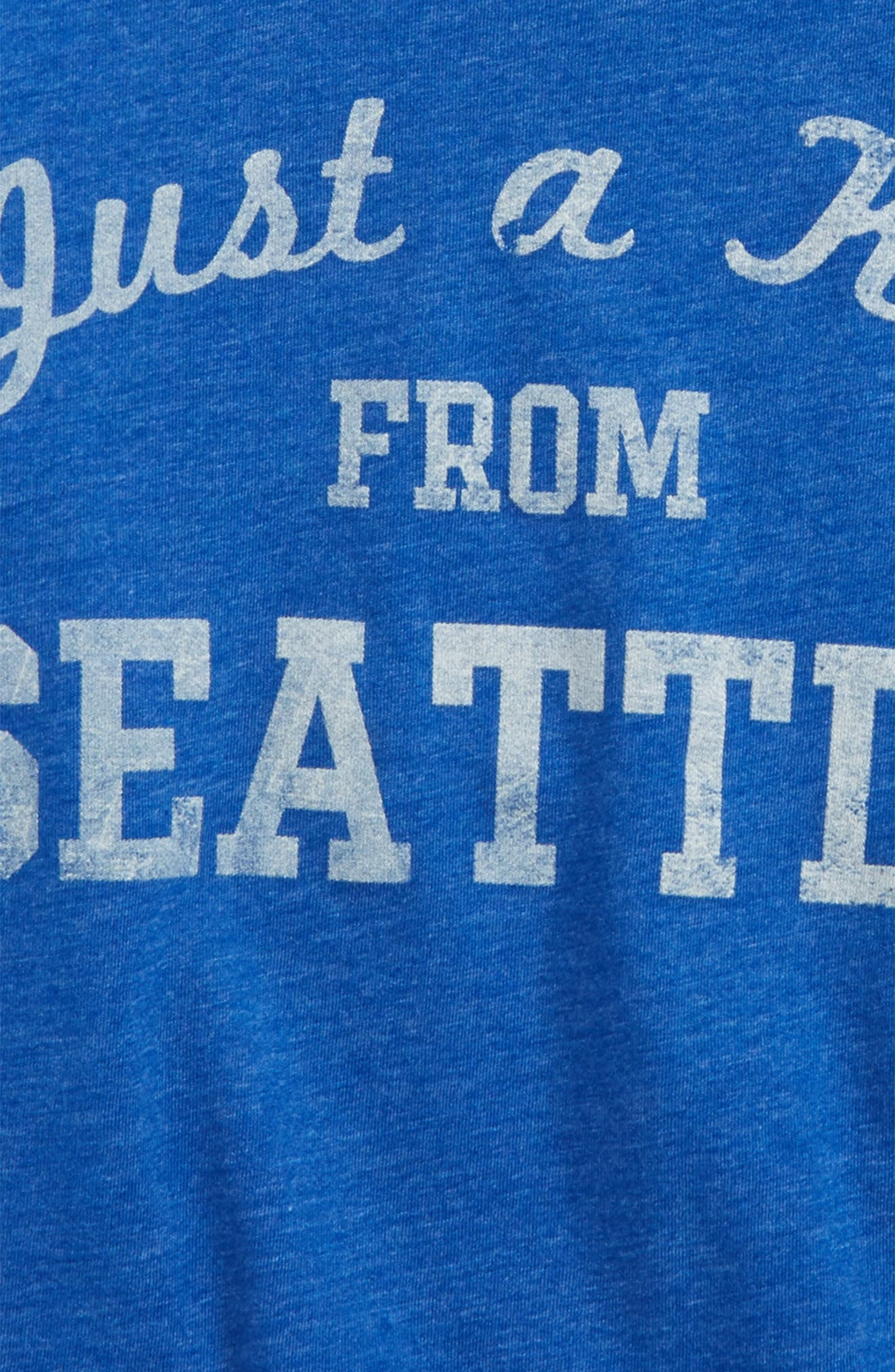 Just a Kid from Seattle Graphic T-Shirt,                             Alternate thumbnail 2, color,