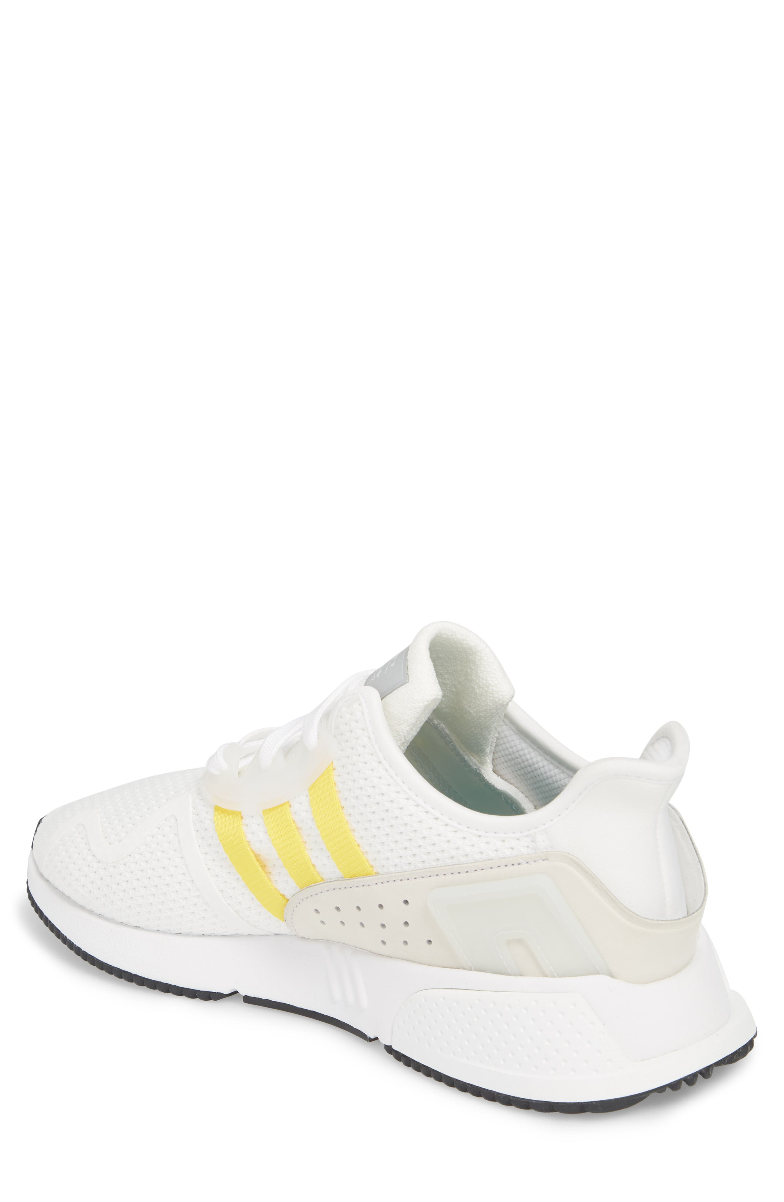 EQT Cushion ADV Sneaker,                             Alternate thumbnail 2, color,                             WHITE/ SILVER