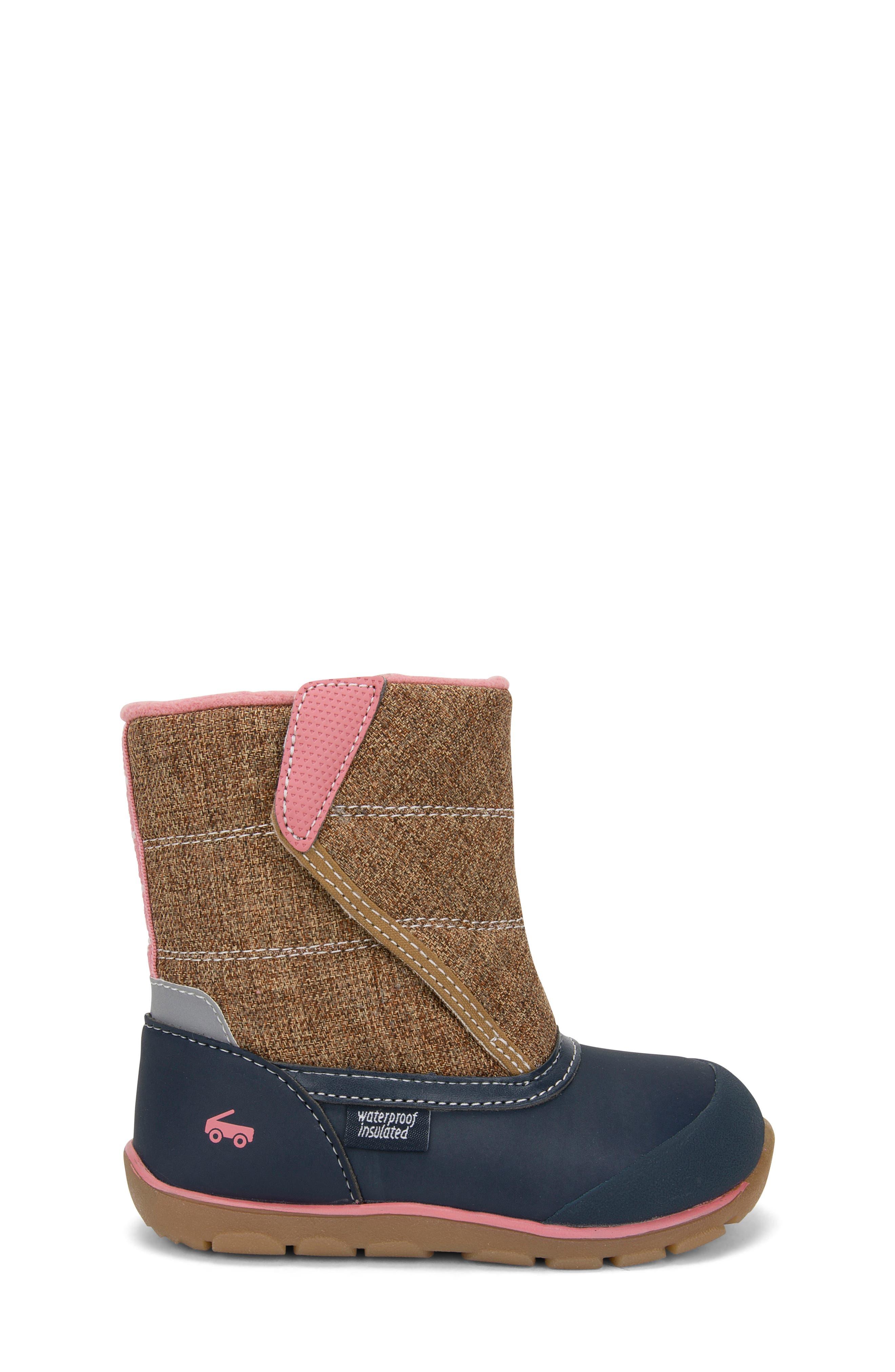 SEE KAI RUN,                             Baker Waterproof Insulated Boot,                             Alternate thumbnail 3, color,                             200