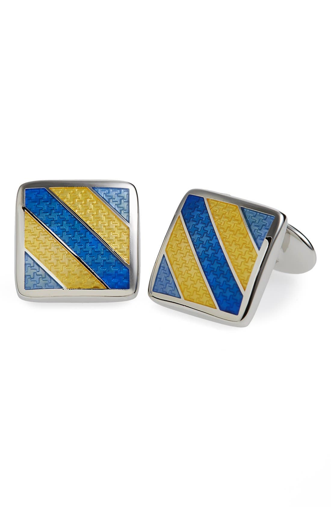Enamel Cuff Links,                             Main thumbnail 4, color,