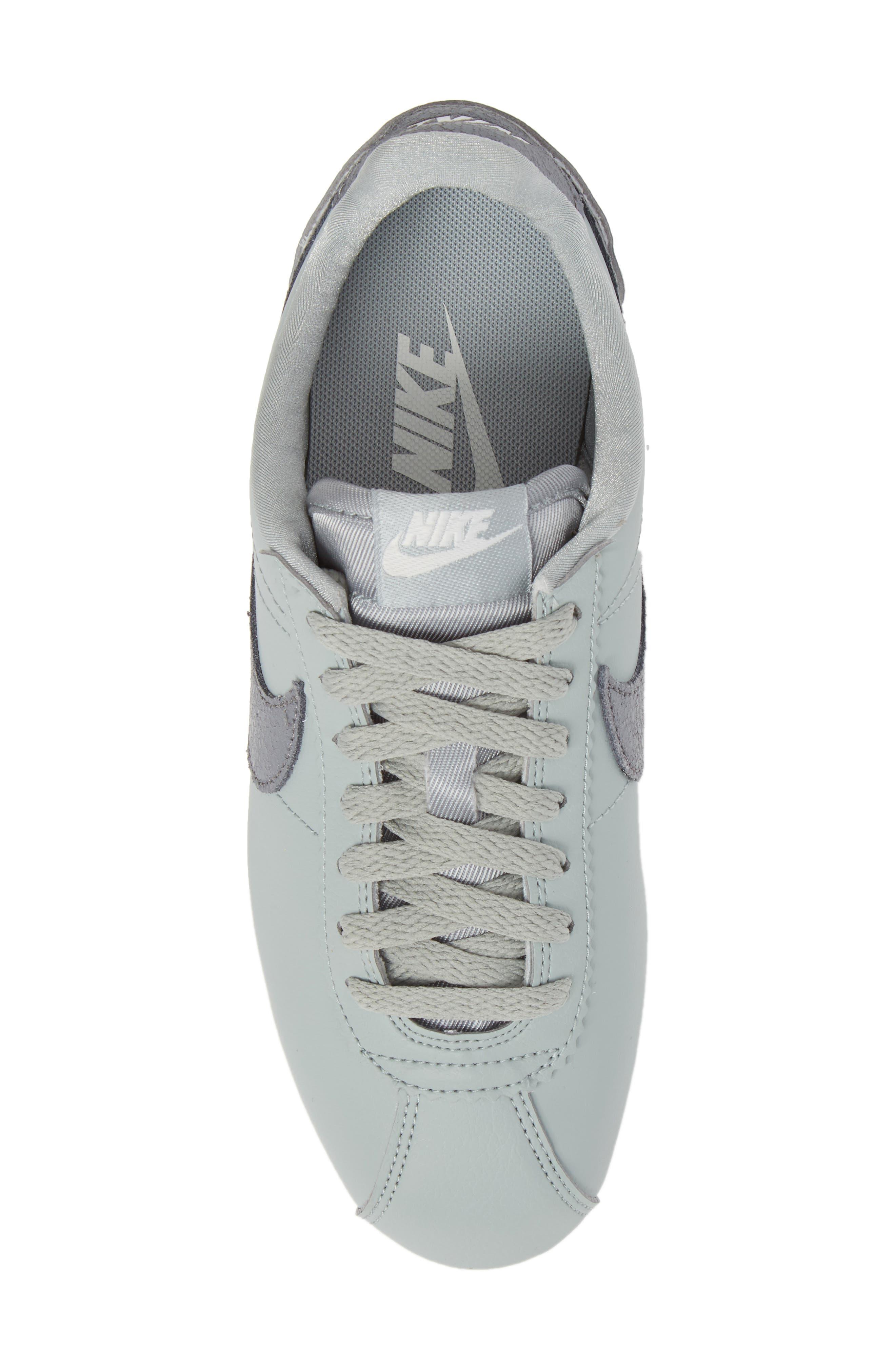 Classic Cortez Premium Sneaker,                             Alternate thumbnail 5, color,                             028