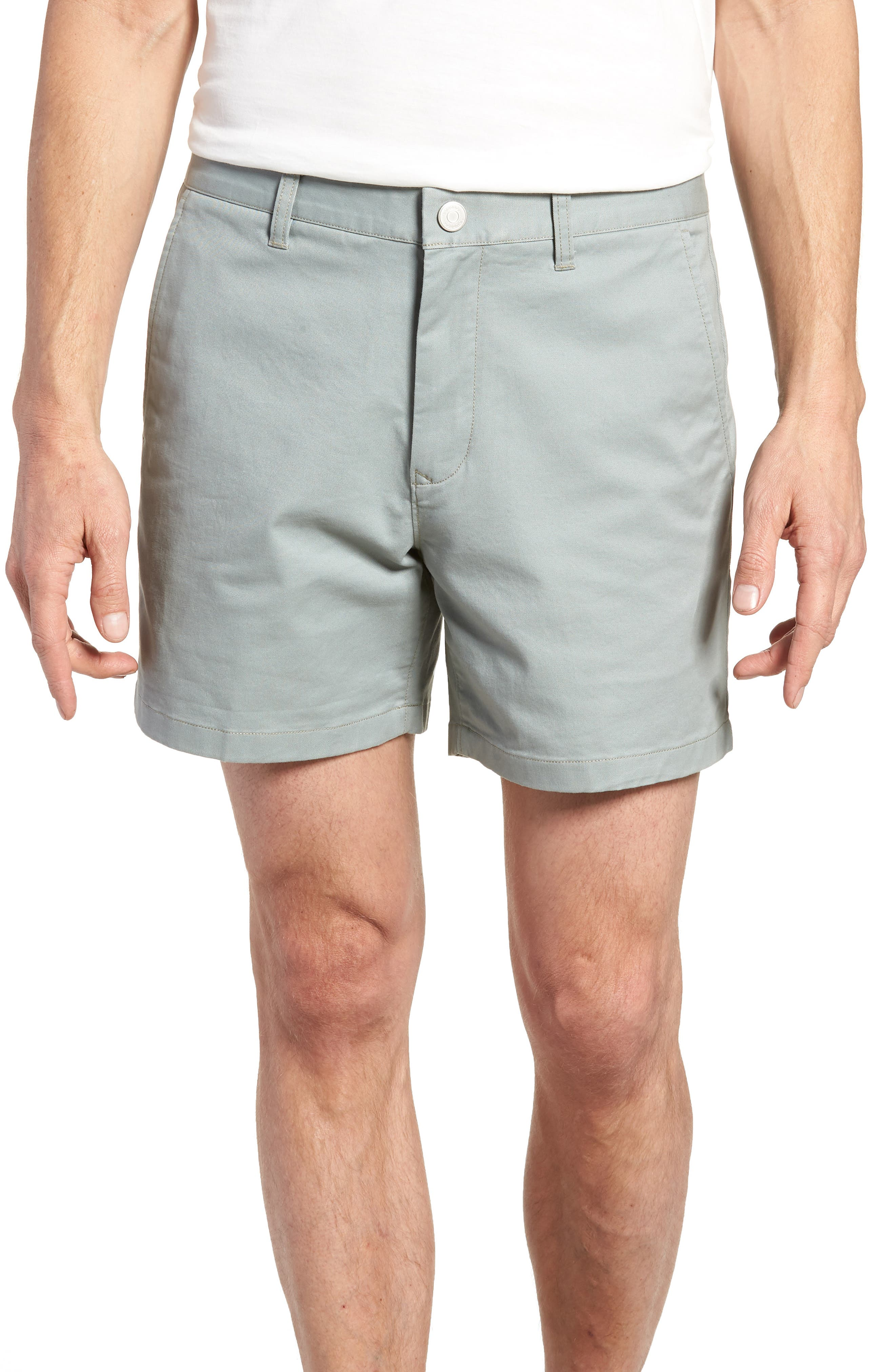 Stretch Washed Chino 5-Inch Shorts,                             Main thumbnail 7, color,