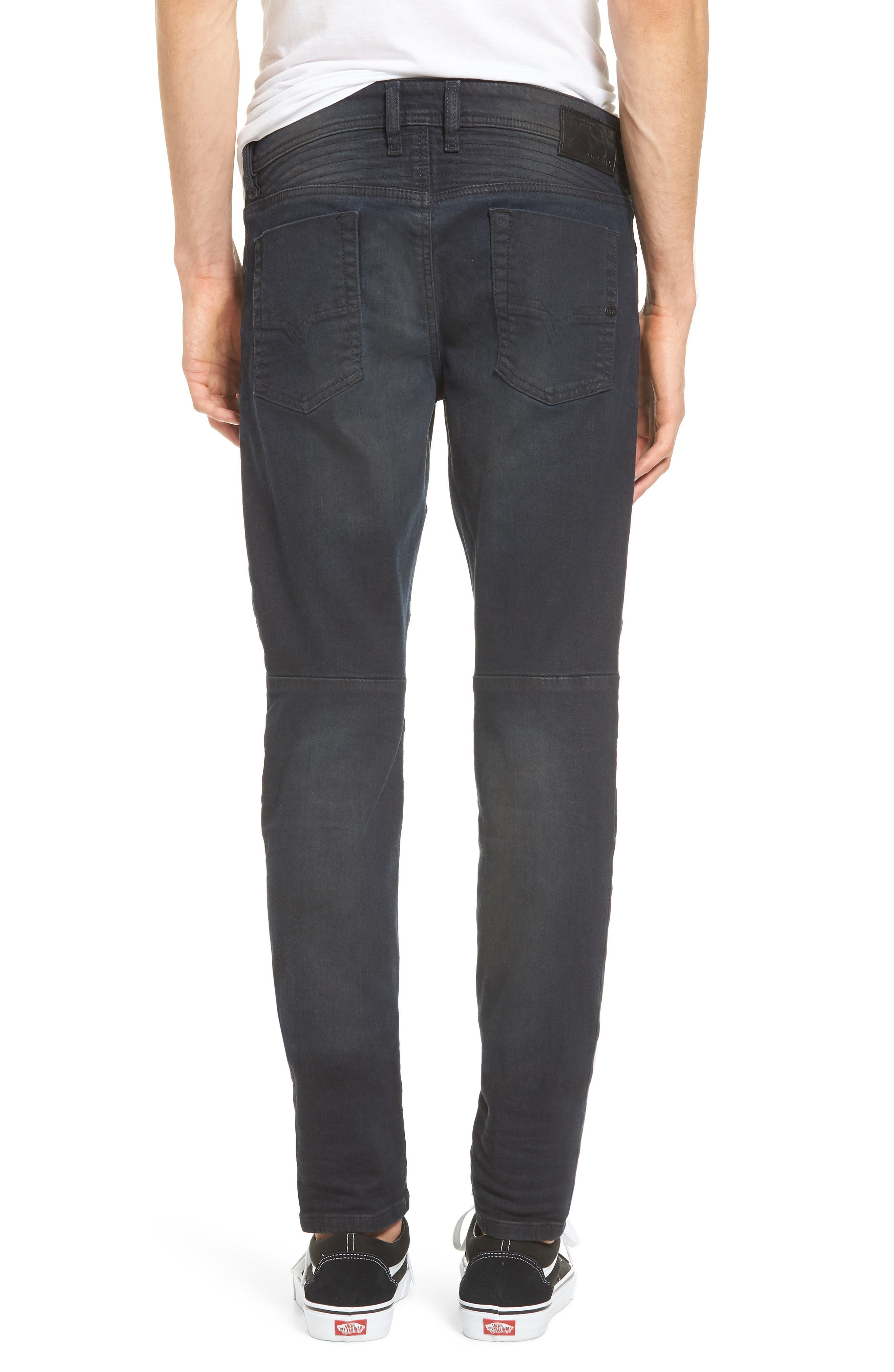 Fourk Skinny Fit Jeans,                             Alternate thumbnail 2, color,