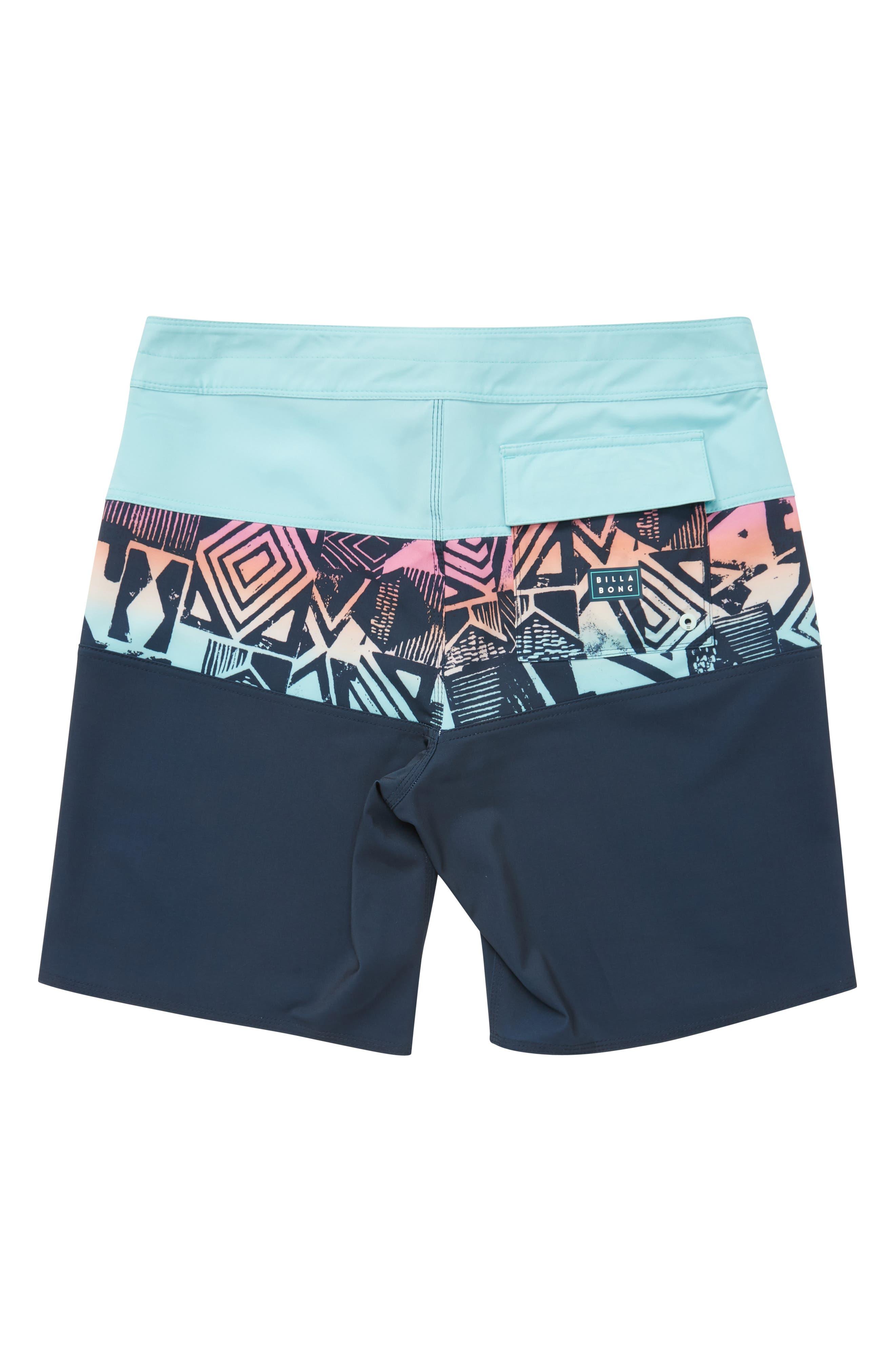 Tribong X Board Shorts,                             Alternate thumbnail 2, color,                             INDIGO