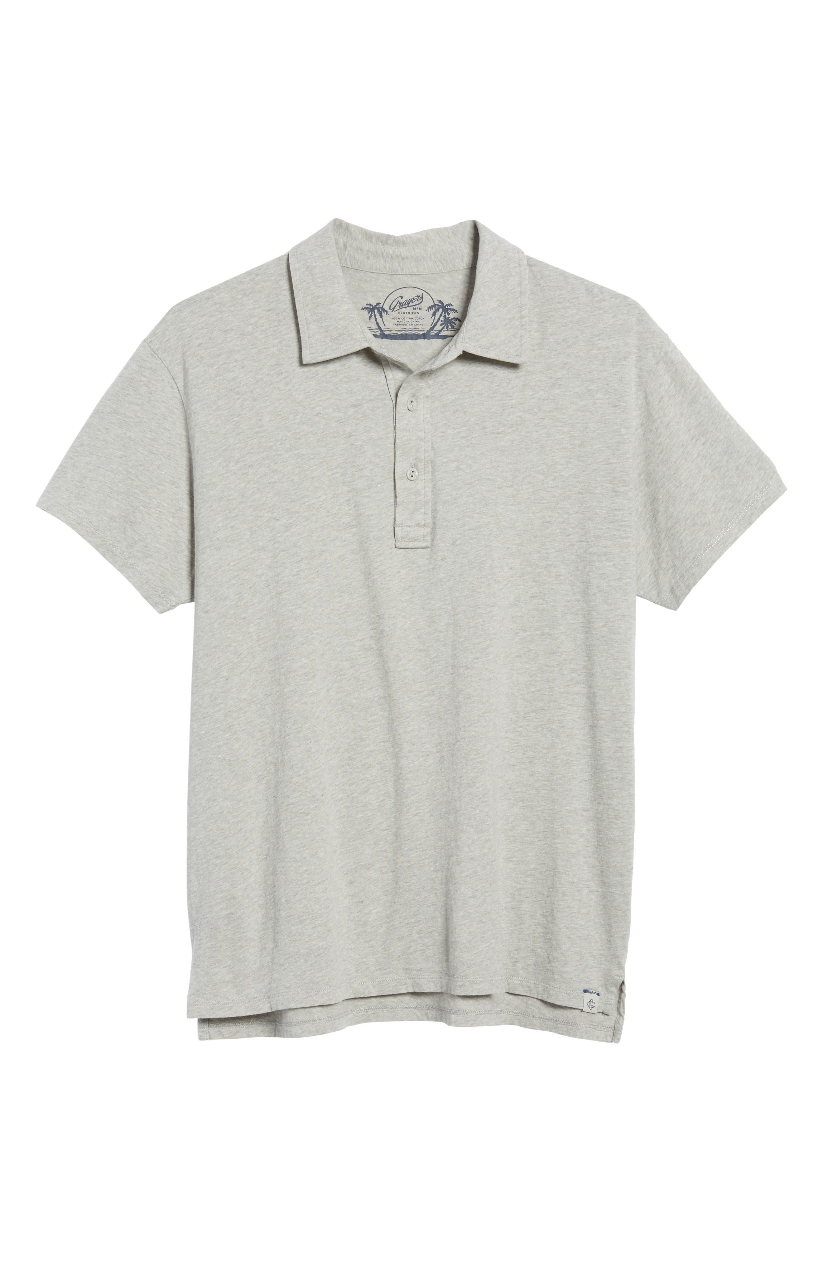 Hartford Nep Jersey Polo,                             Alternate thumbnail 6, color,                             037
