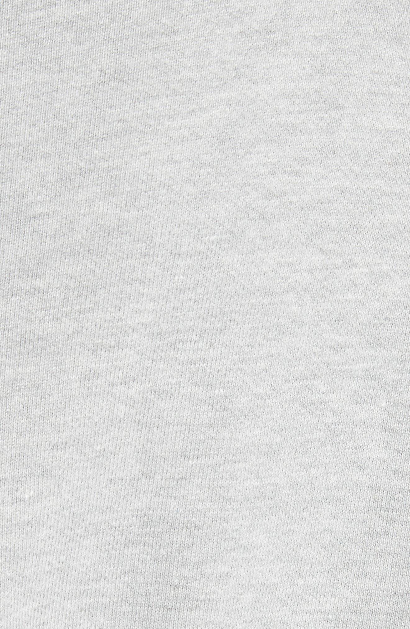 Asymmetrical Ruffle Sweatshirt,                             Alternate thumbnail 5, color,                             060