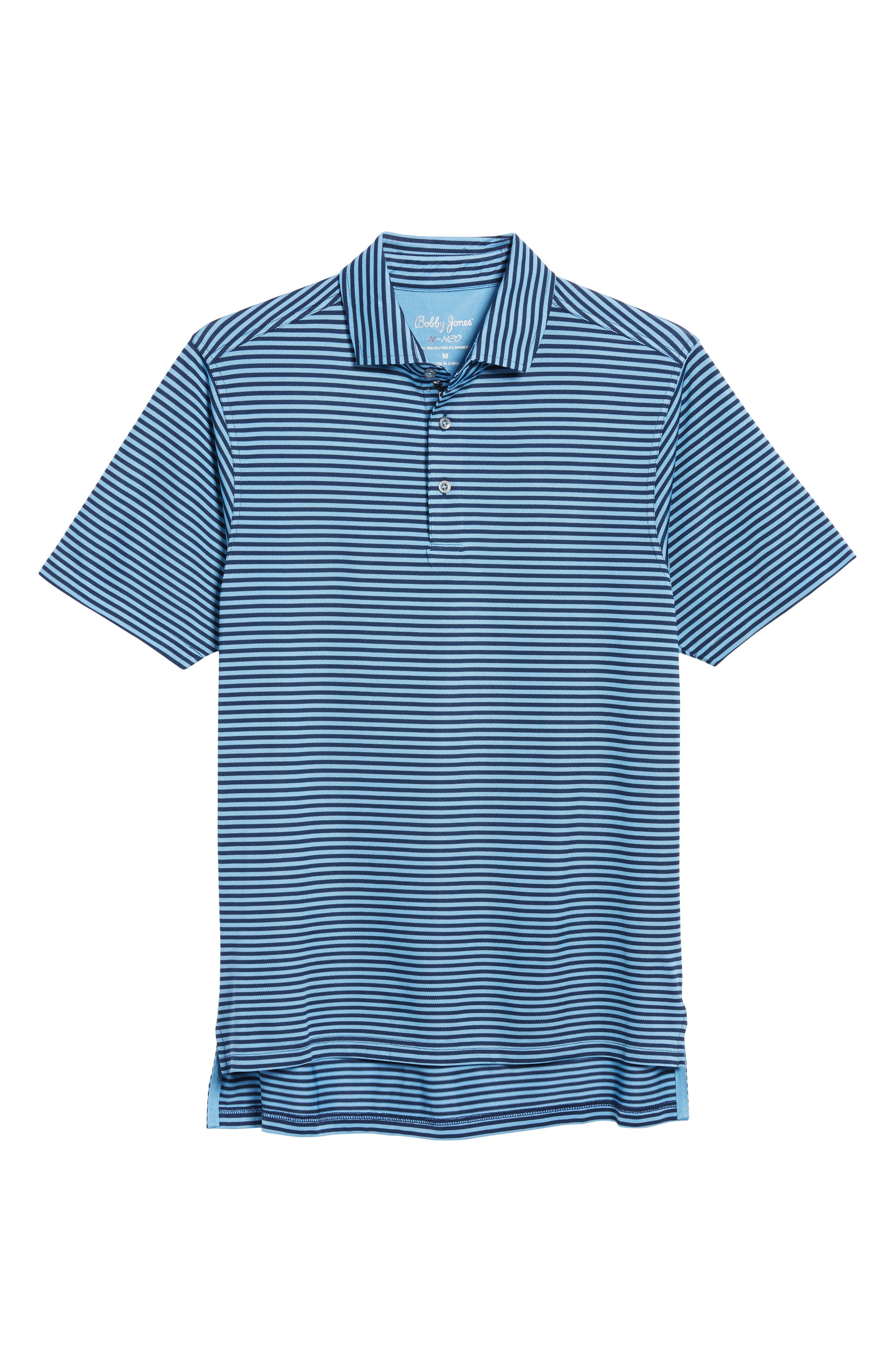 XH2O Feed Stripe Stretch Golf Polo,                             Alternate thumbnail 97, color,