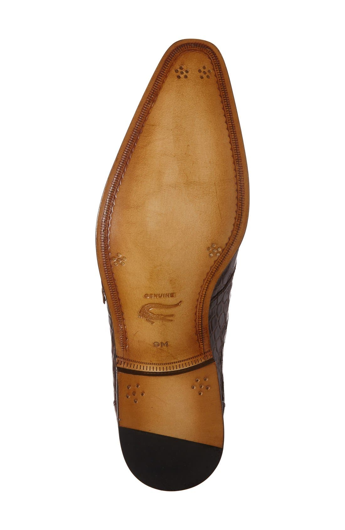 'Agra' Double Monk Strap Shoe,                             Alternate thumbnail 8, color,