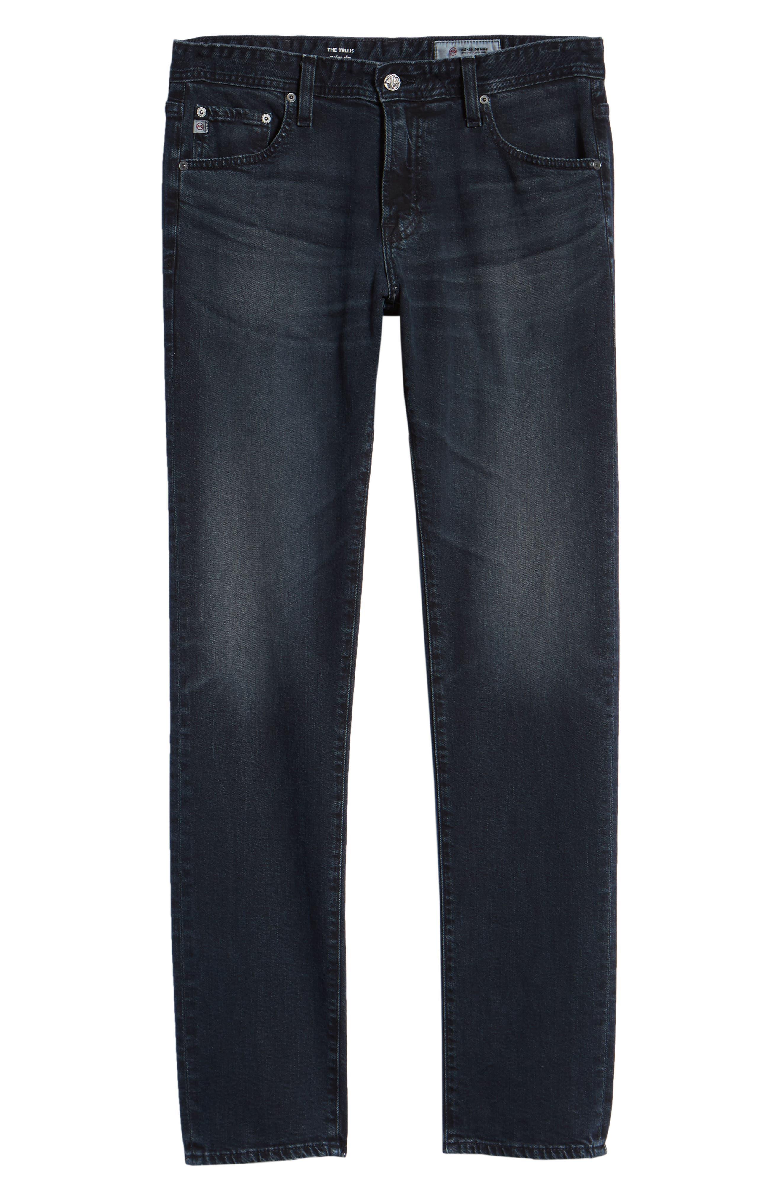 Tellis Slim Fit Jeans,                             Alternate thumbnail 6, color,                             2 YEARS RUMBLE