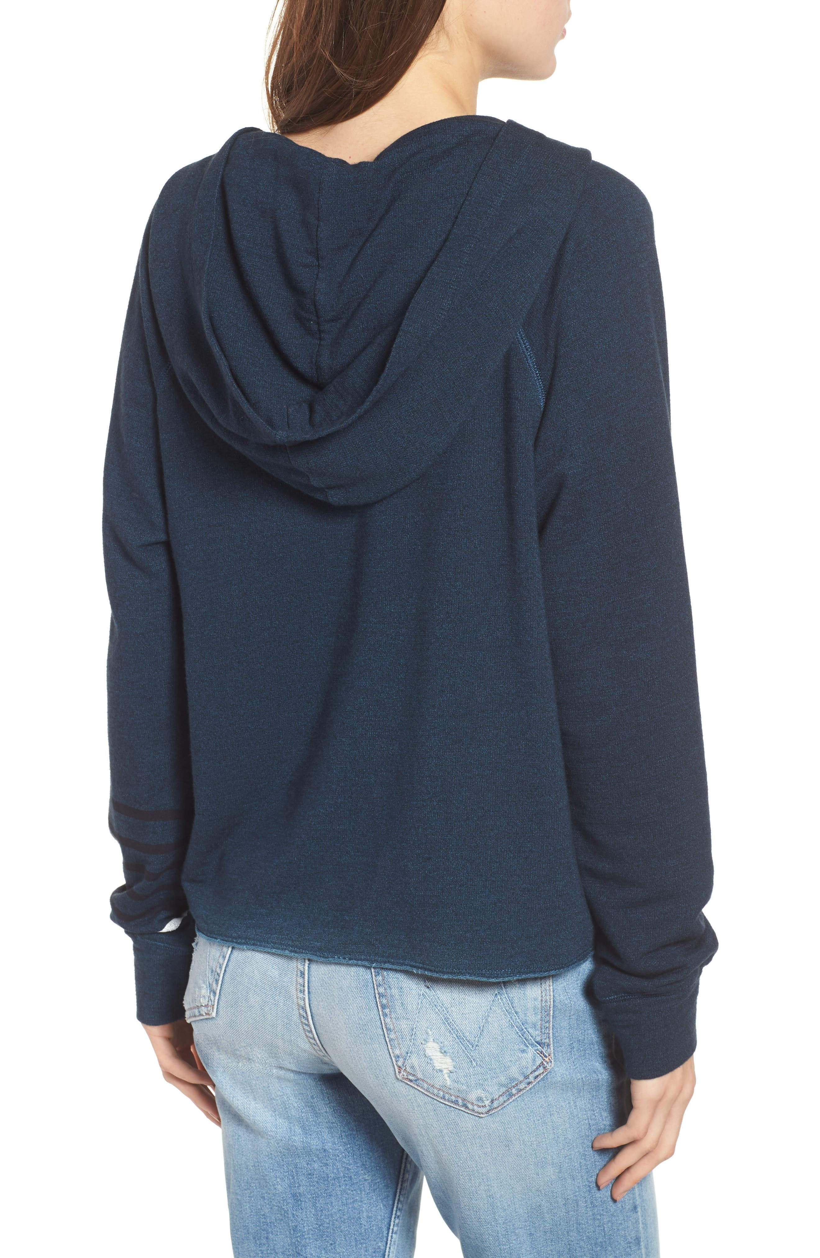 SUNDRY,                             Lover Active Crop Hoodie,                             Alternate thumbnail 2, color,                             405