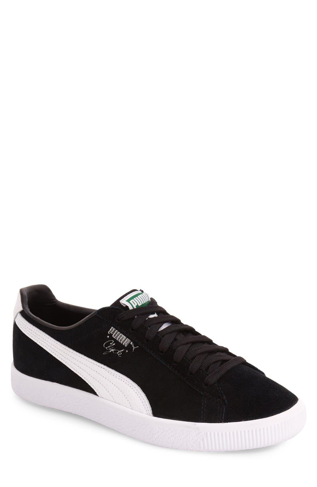 'Clyde B&C' Sneaker, Main, color, 001