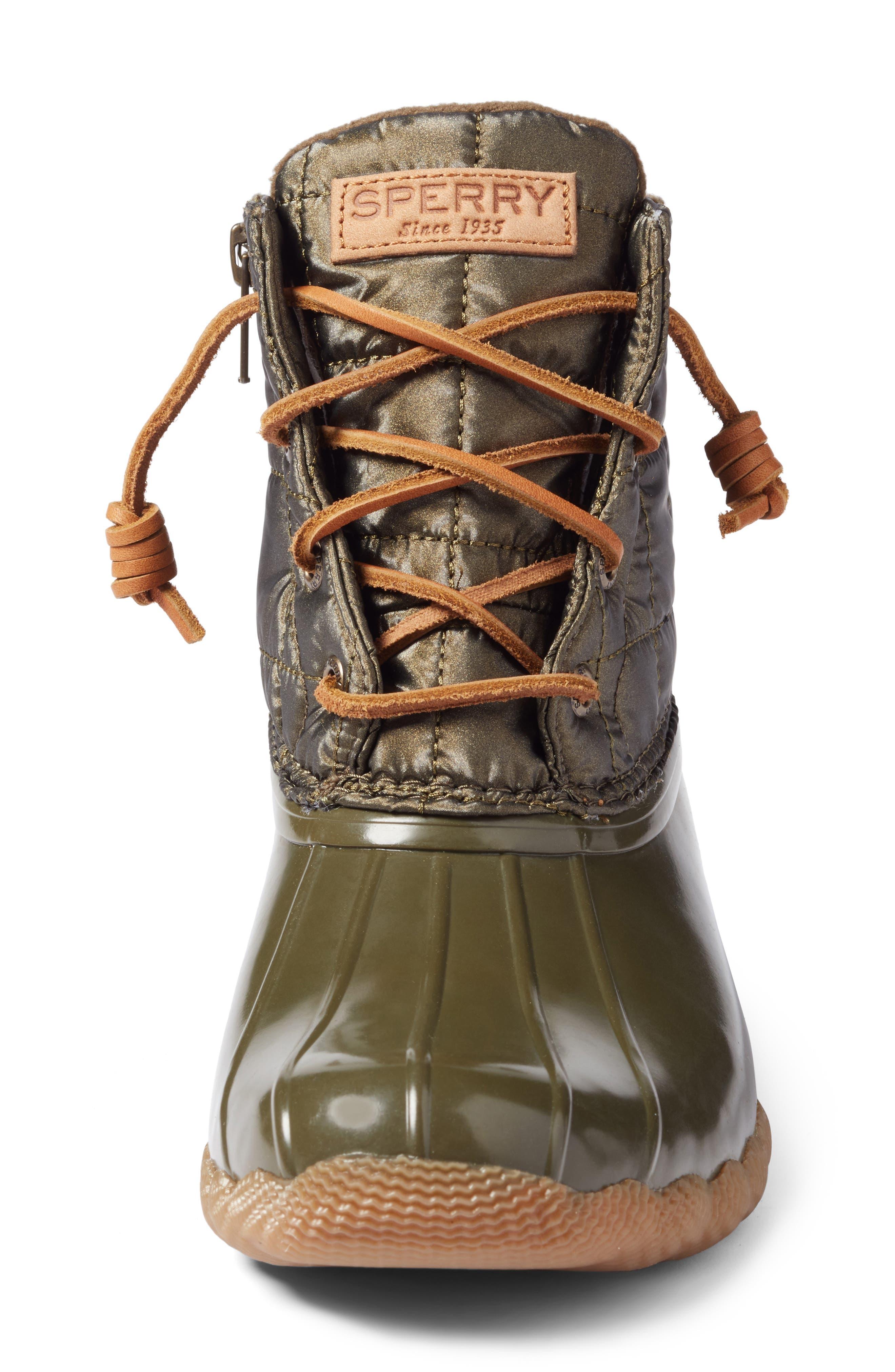 'Saltwater' Waterproof Rain Boot,                             Alternate thumbnail 107, color,