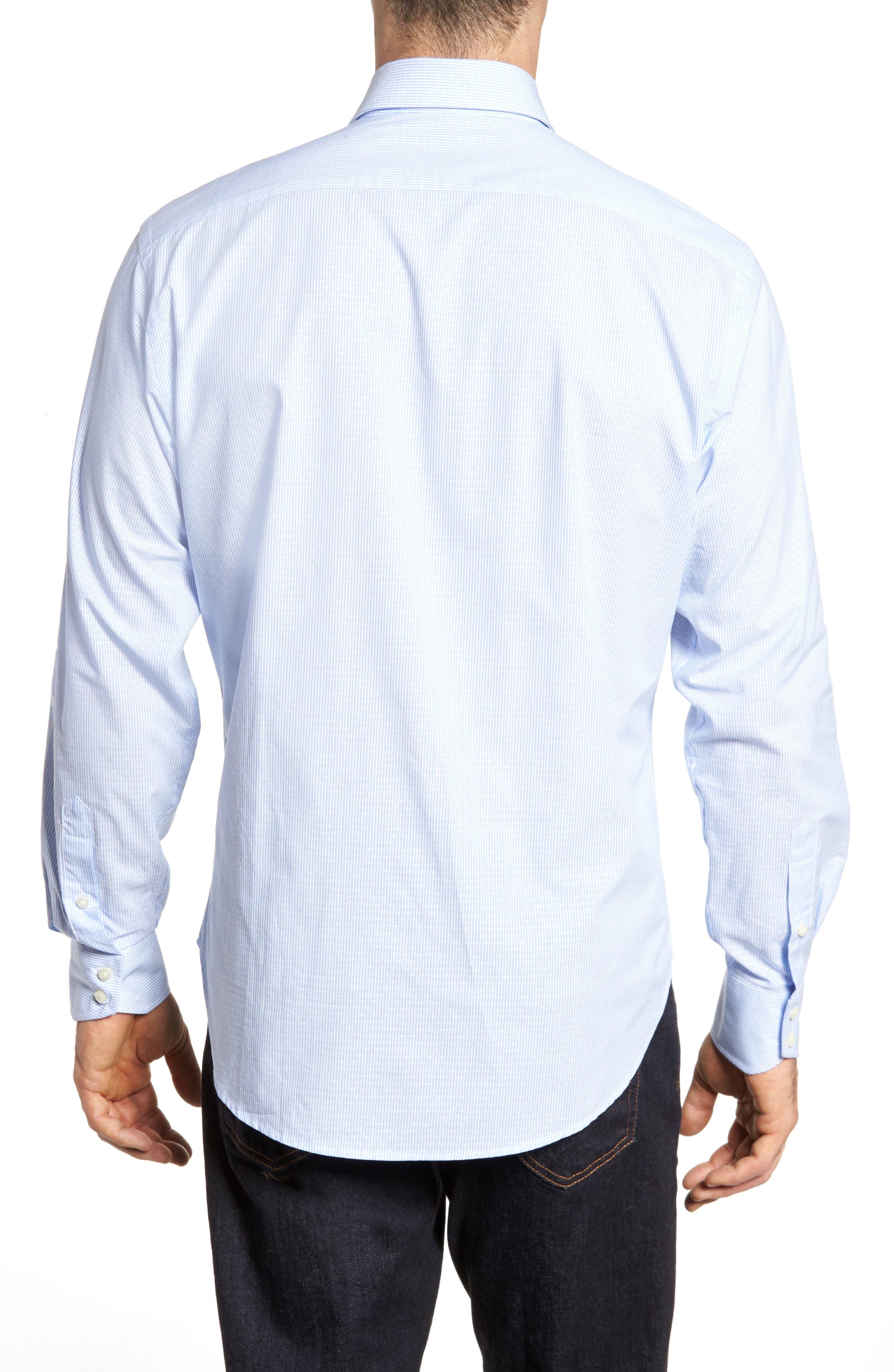 Regular Fit Stripe Sport Shirt,                             Alternate thumbnail 2, color,                             020