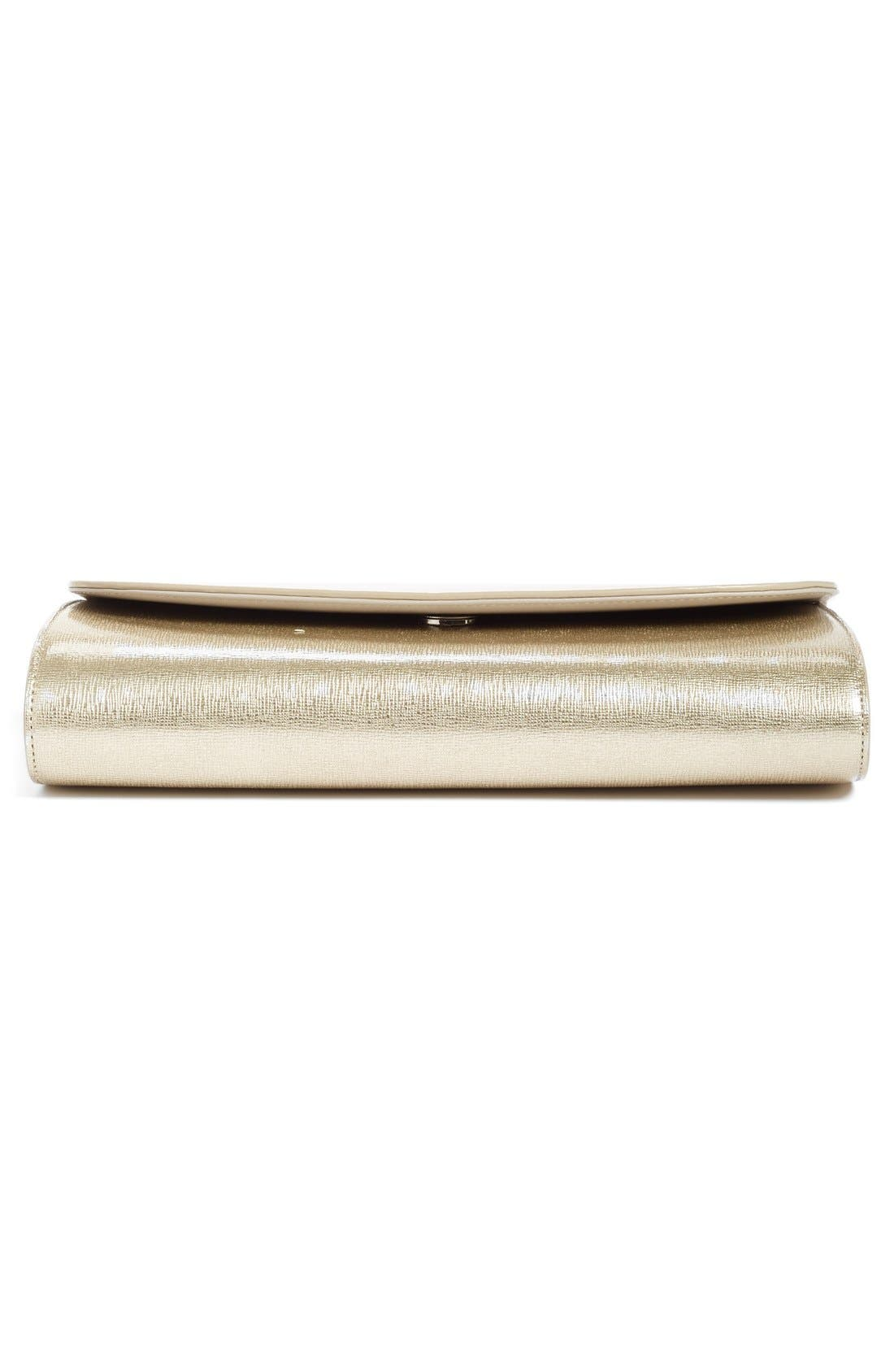 Leather Clutch,                             Alternate thumbnail 28, color,