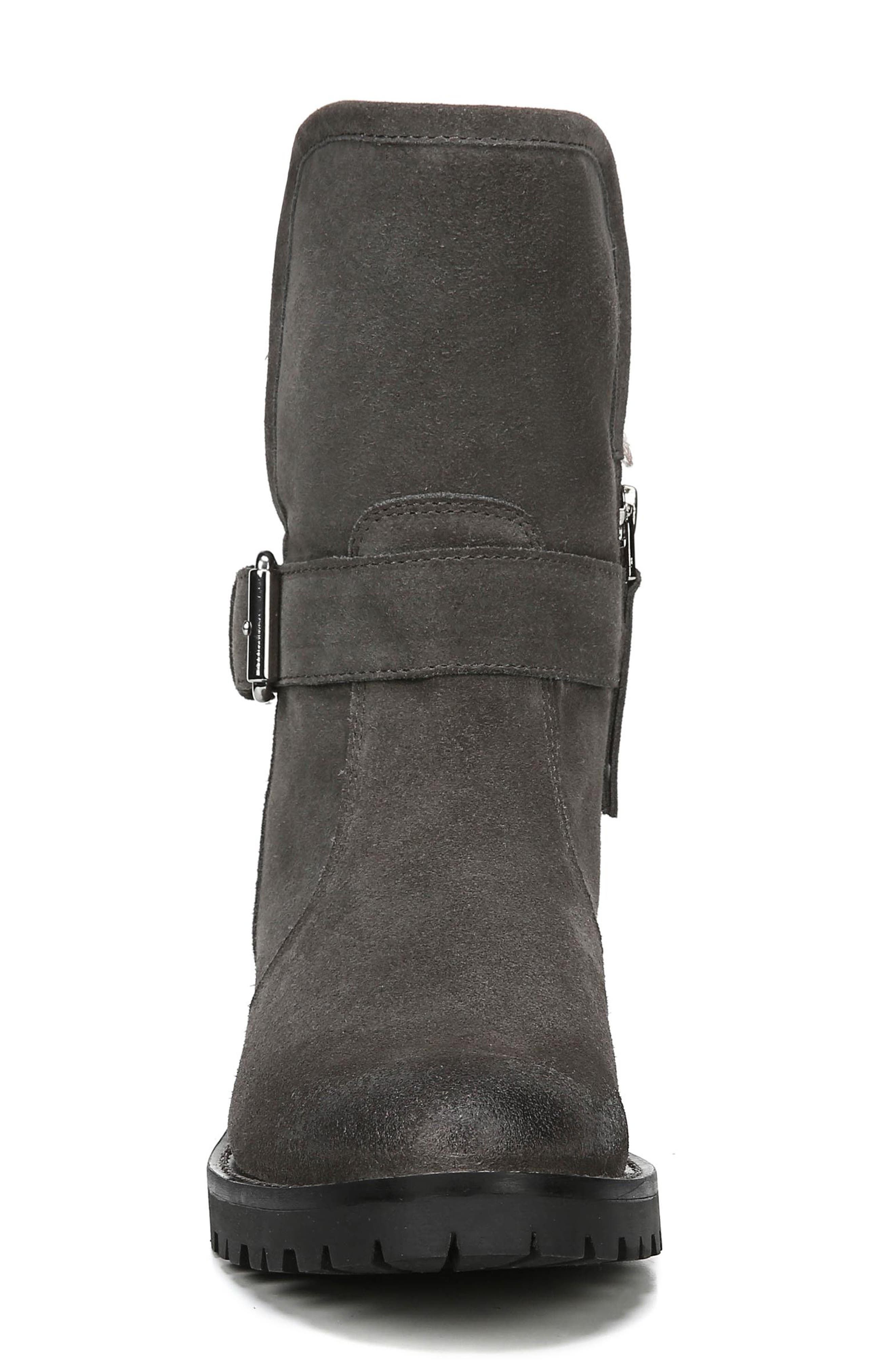Jeanie Boot,                             Alternate thumbnail 4, color,                             STEEL GREY SUEDE
