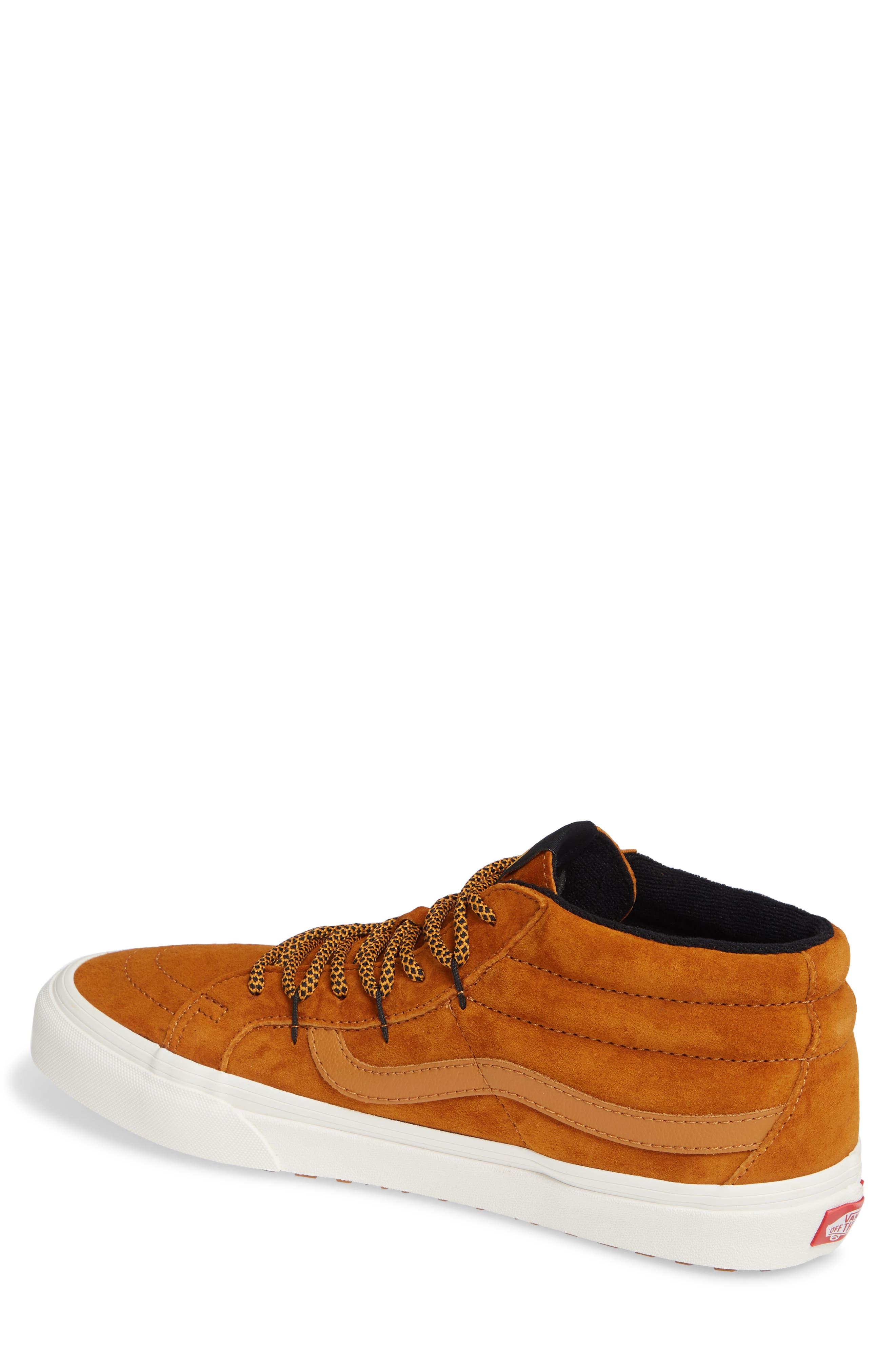SK8-Hi Mid Reissue Ghillie MTE Sneaker,                             Alternate thumbnail 2, color,                             BROWN/ MARSHMALLOW