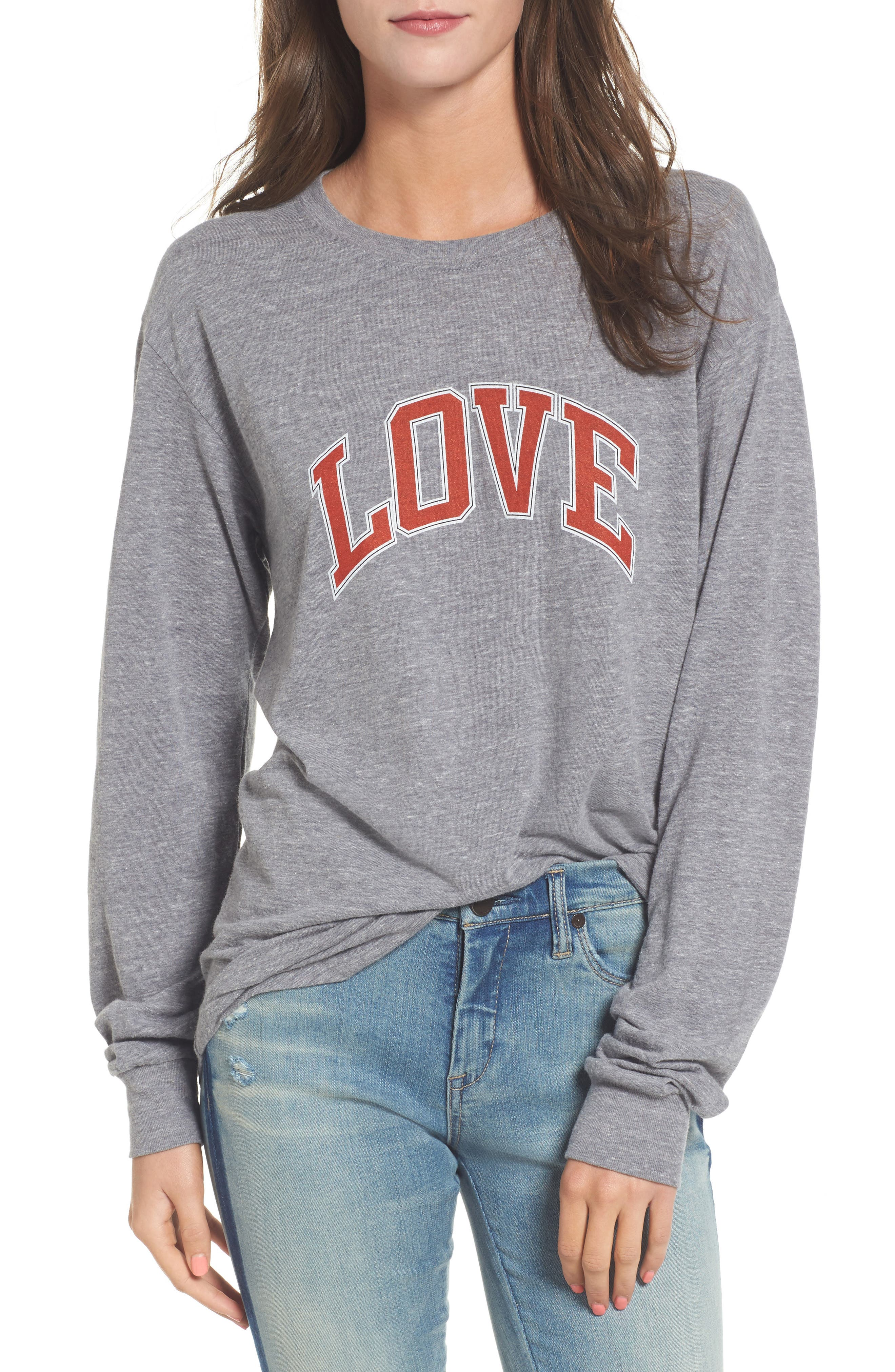 Love Camp Tee,                             Main thumbnail 1, color,                             050