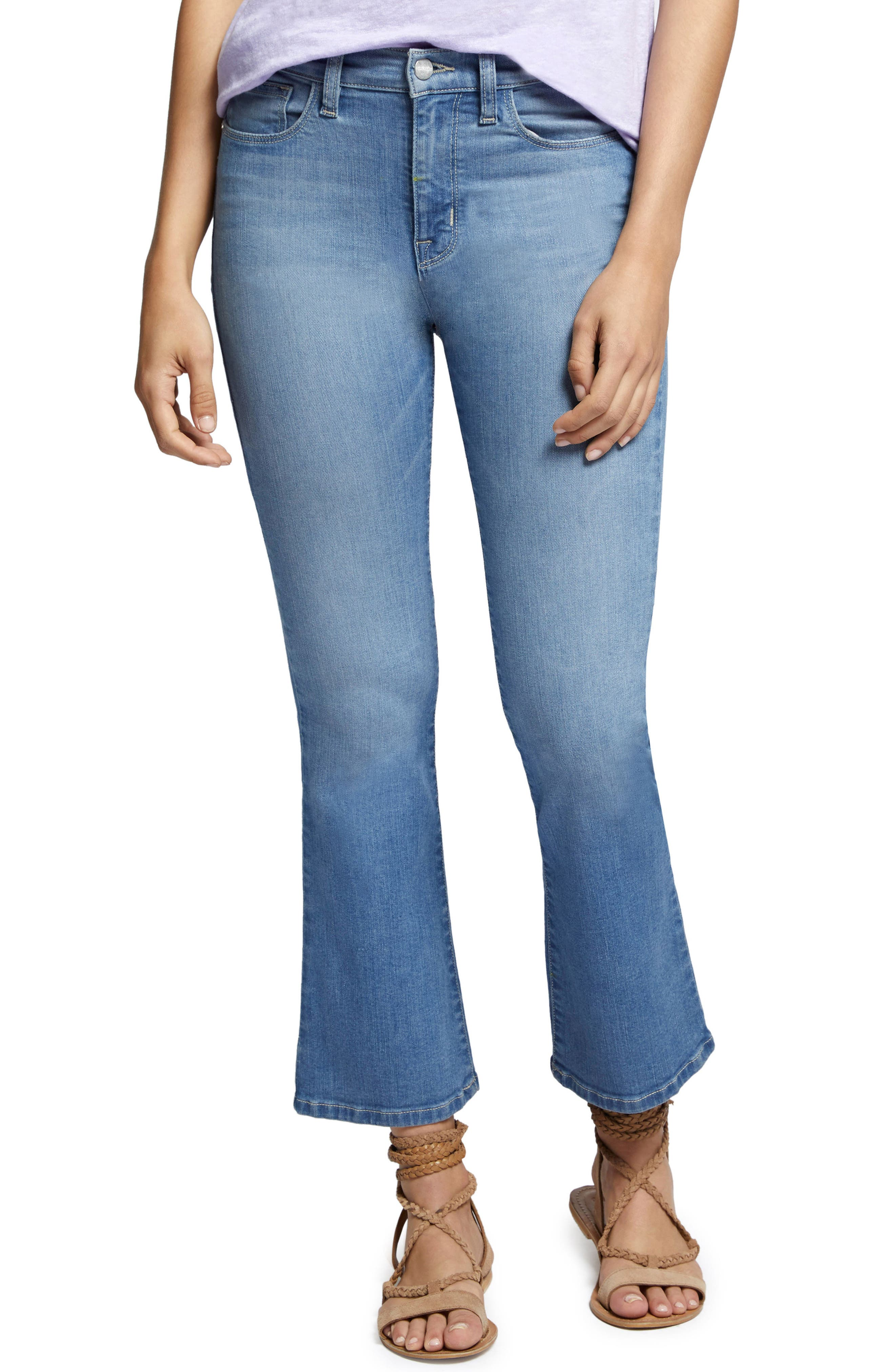 Robbie Crop Flare Jeans,                             Main thumbnail 2, color,