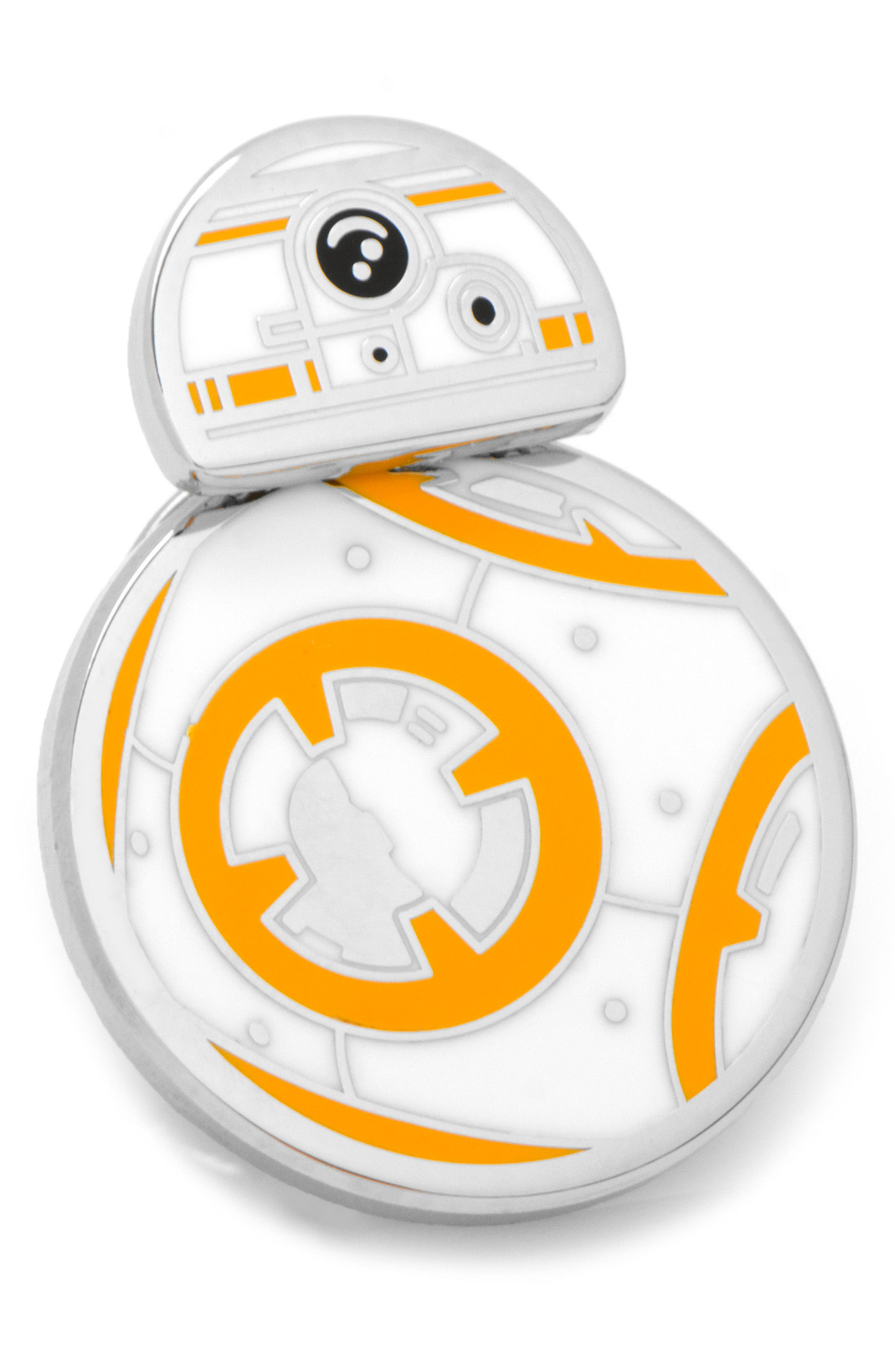 """Star Wars"" Spinning BB8 Lapel Pin,                         Main,                         color, 040"