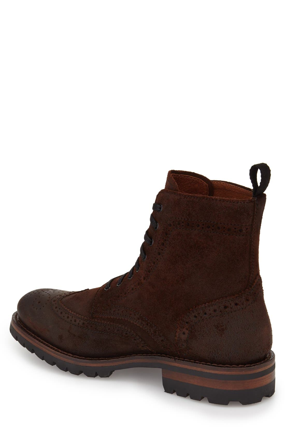George Wingtip Boot,                             Alternate thumbnail 2, color,                             230
