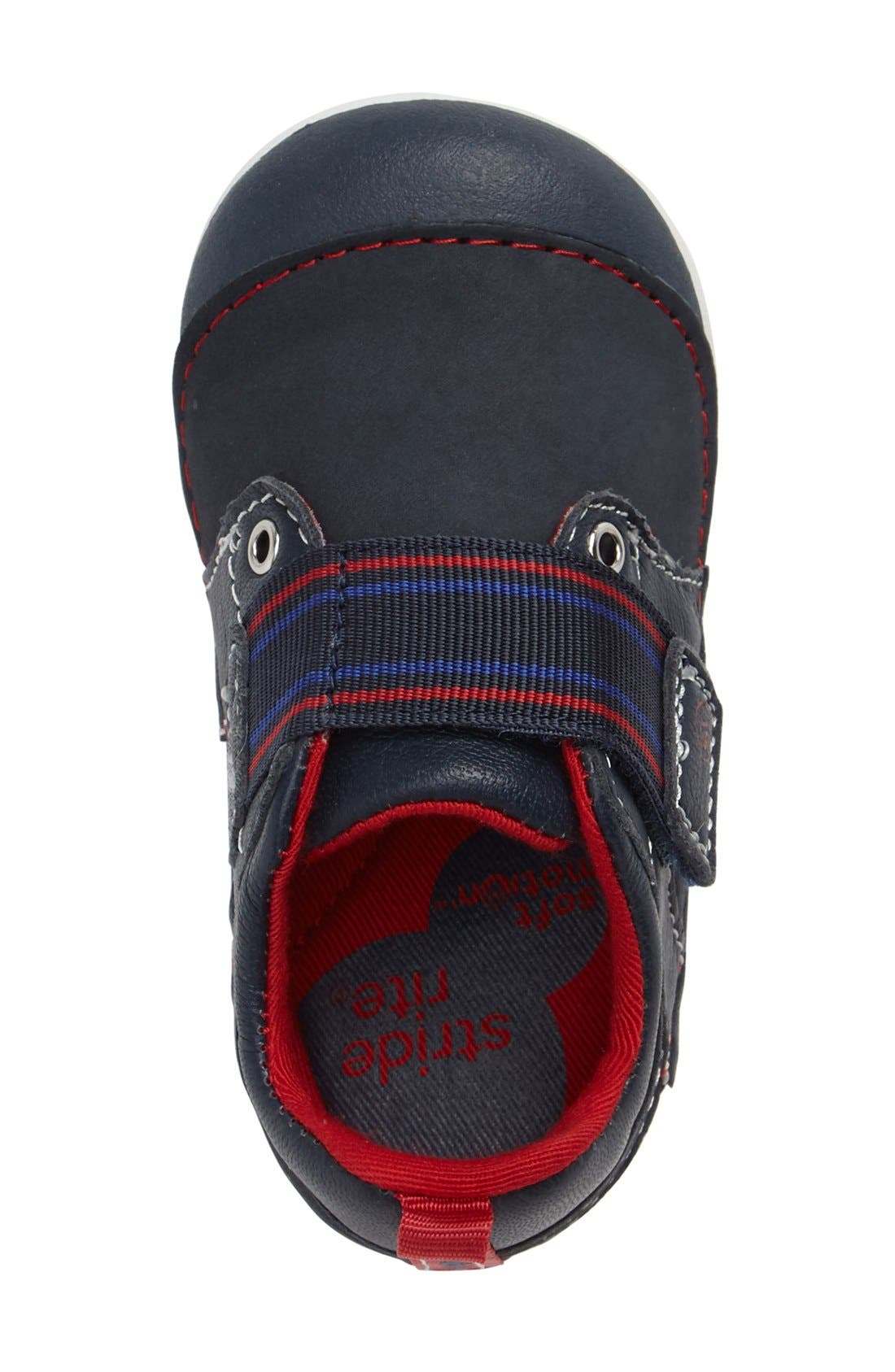 Soft Motion<sup>™</sup> Cameron Sneaker,                             Alternate thumbnail 4, color,                             NAVY