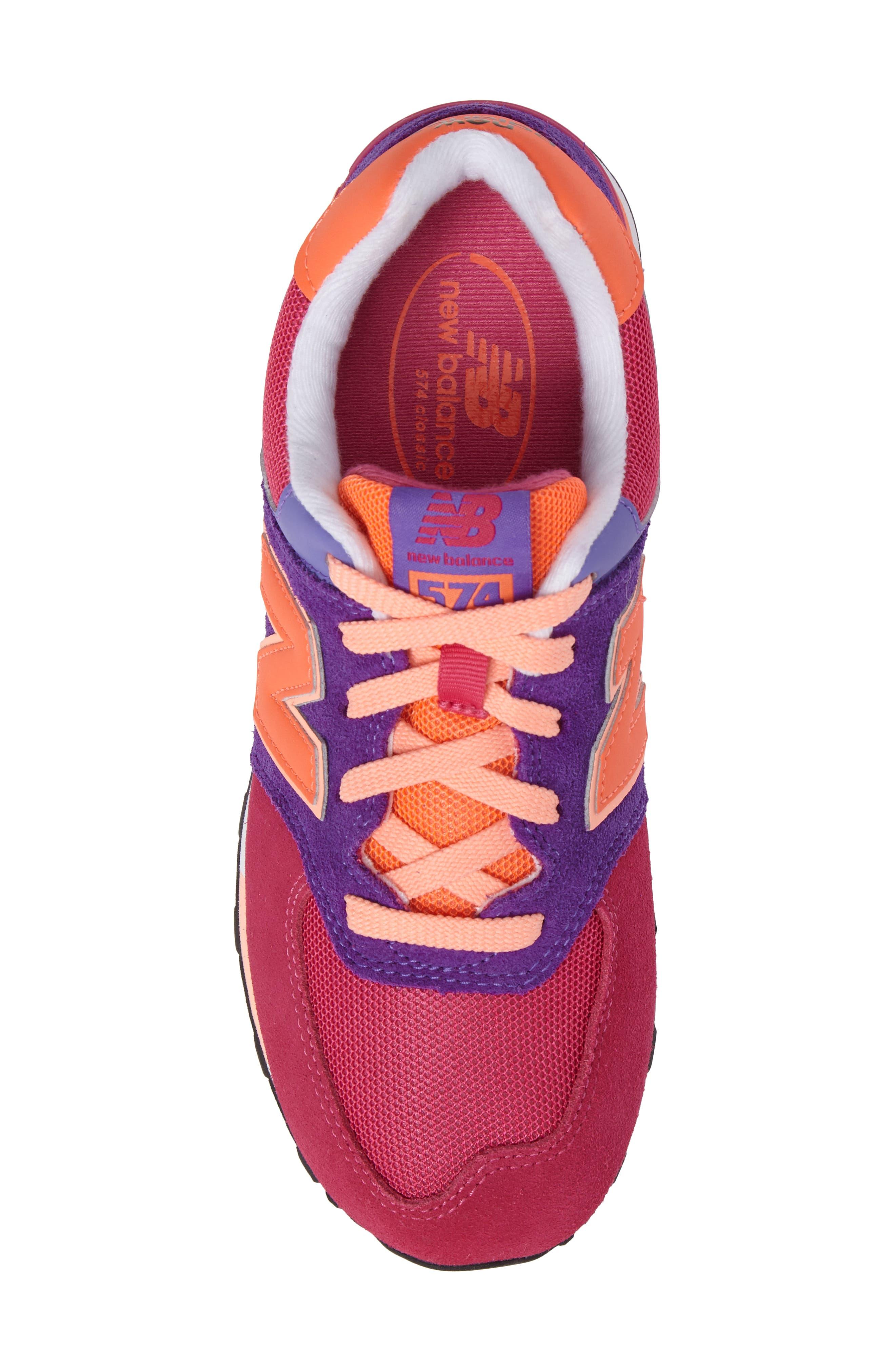 574 Cut & Paste Sneaker,                             Alternate thumbnail 5, color,                             655