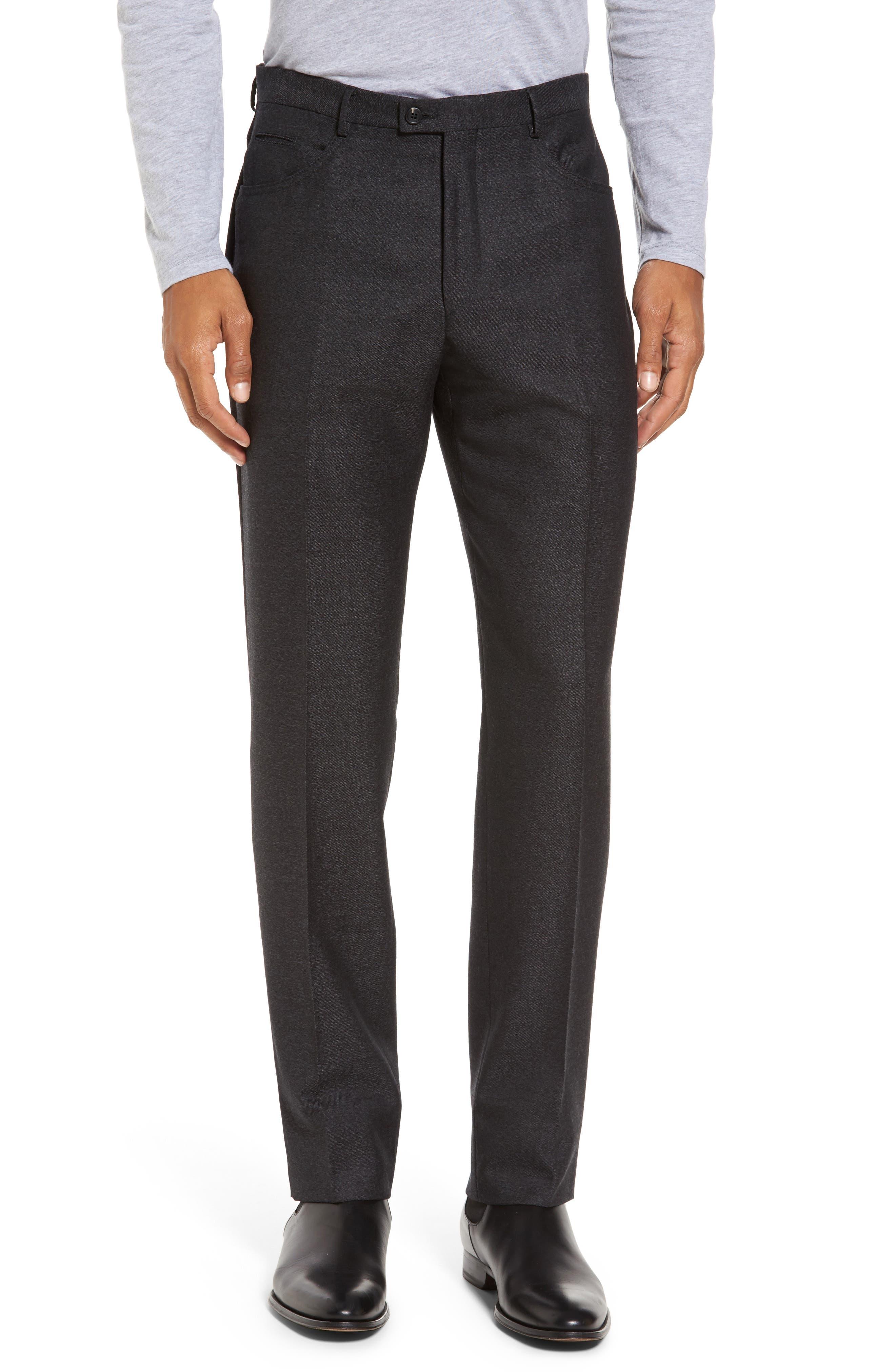 Sartorial Wool Five-Pocket Pants,                             Main thumbnail 1, color,                             001
