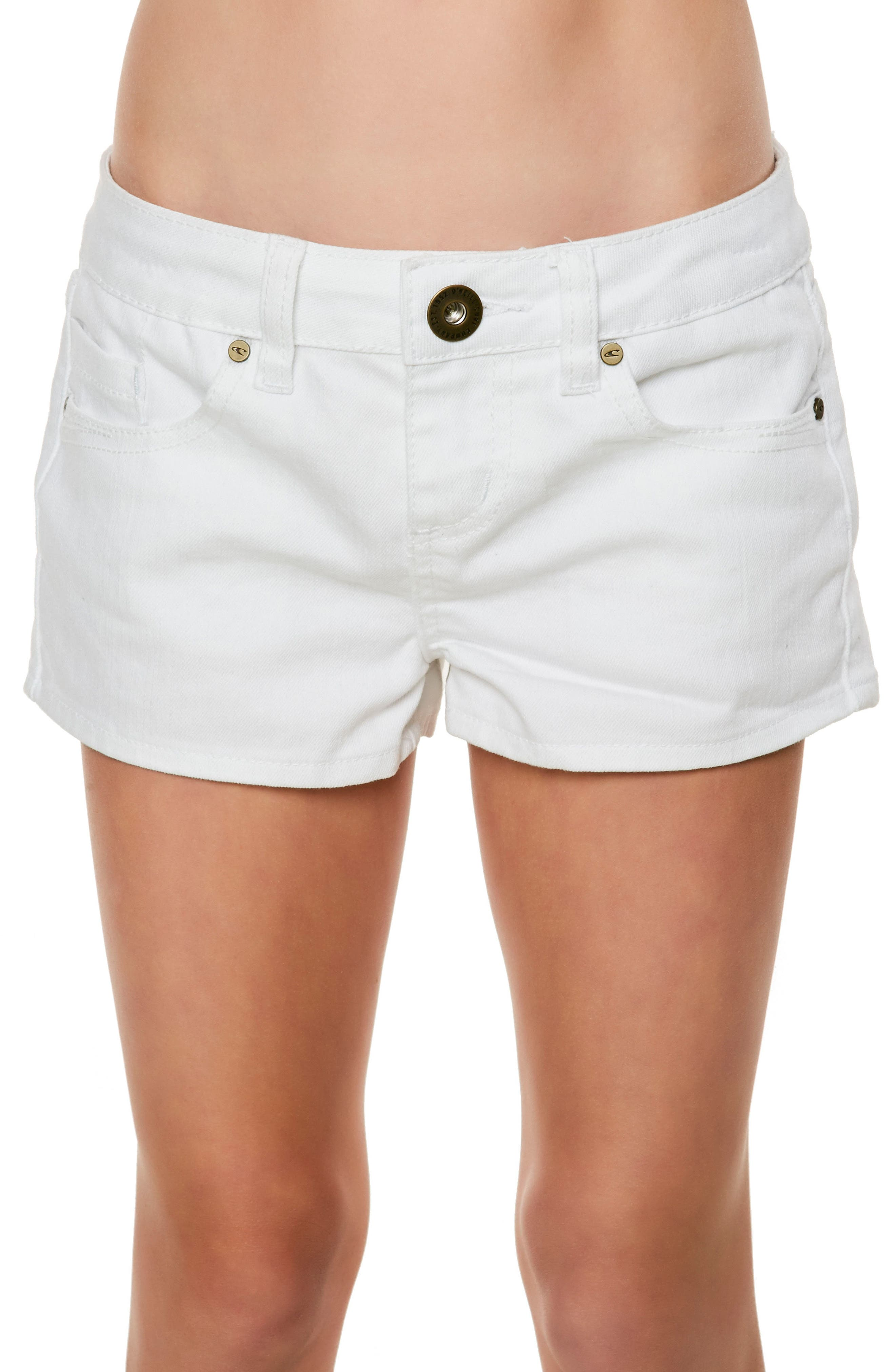 Waidley Denim Shorts,                             Alternate thumbnail 2, color,                             100