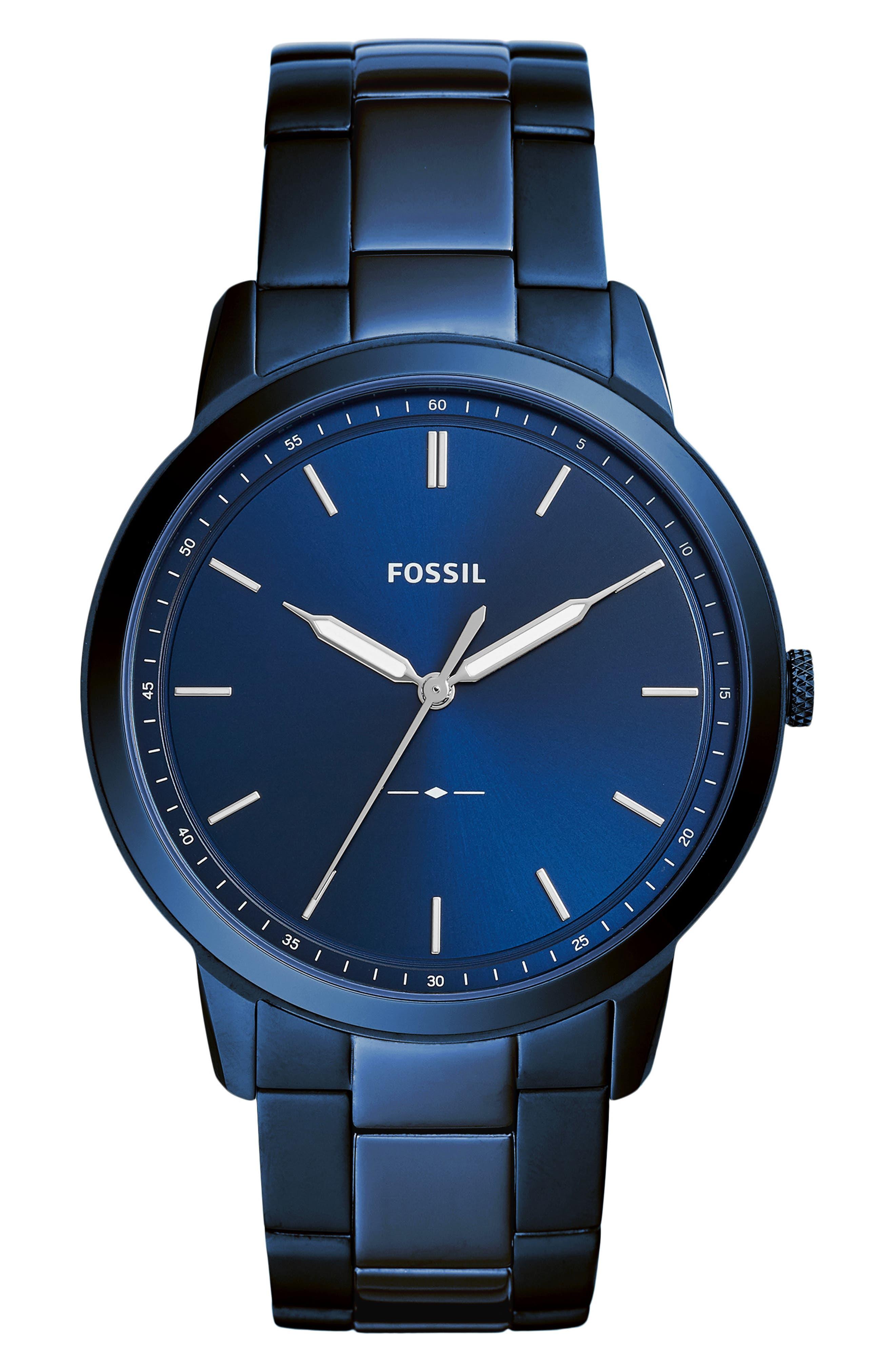 Minimalist Bracelet Watch, 44mm,                             Main thumbnail 4, color,