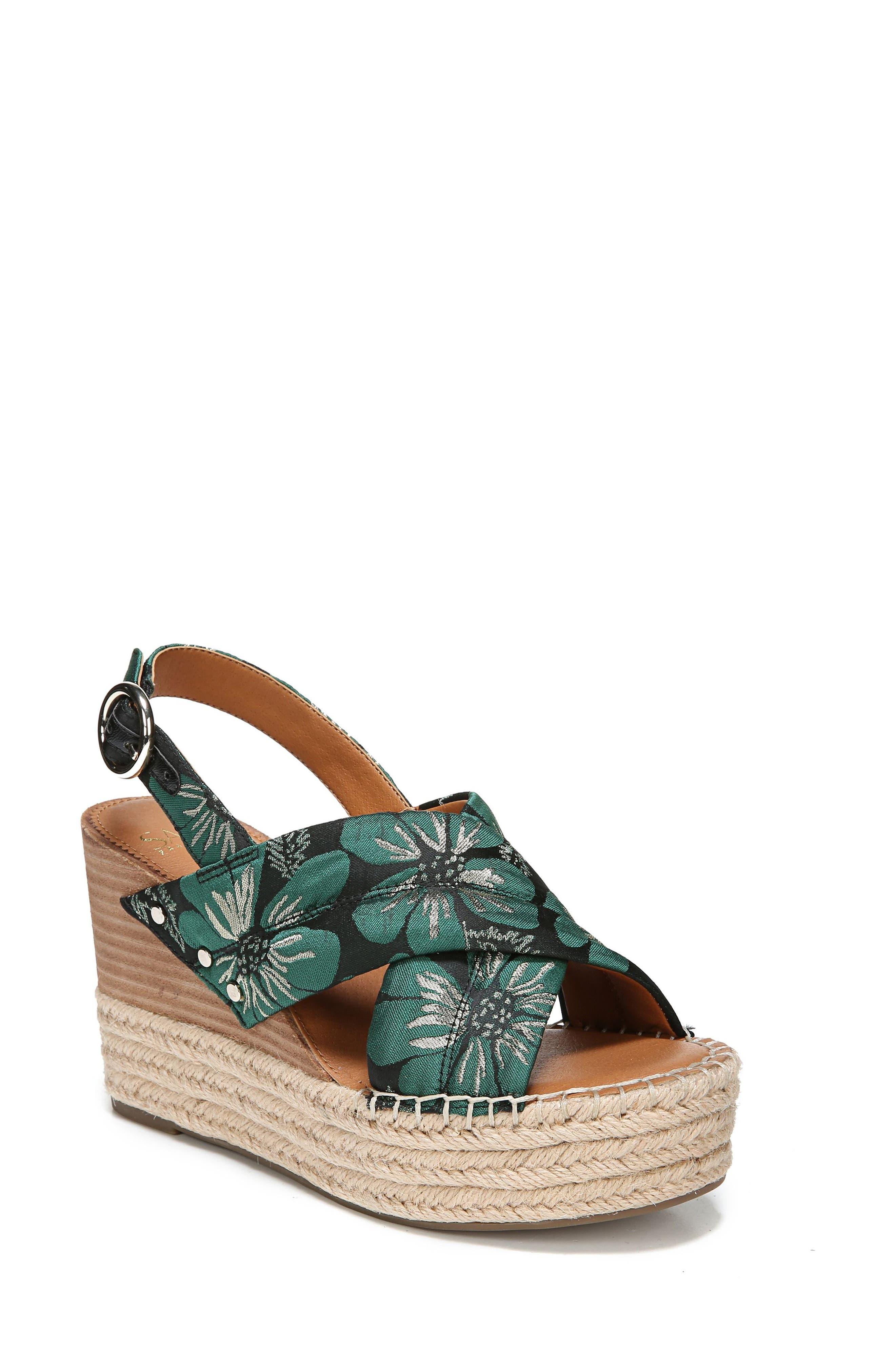 Niva Espadrille Wedge Sandal,                             Main thumbnail 3, color,