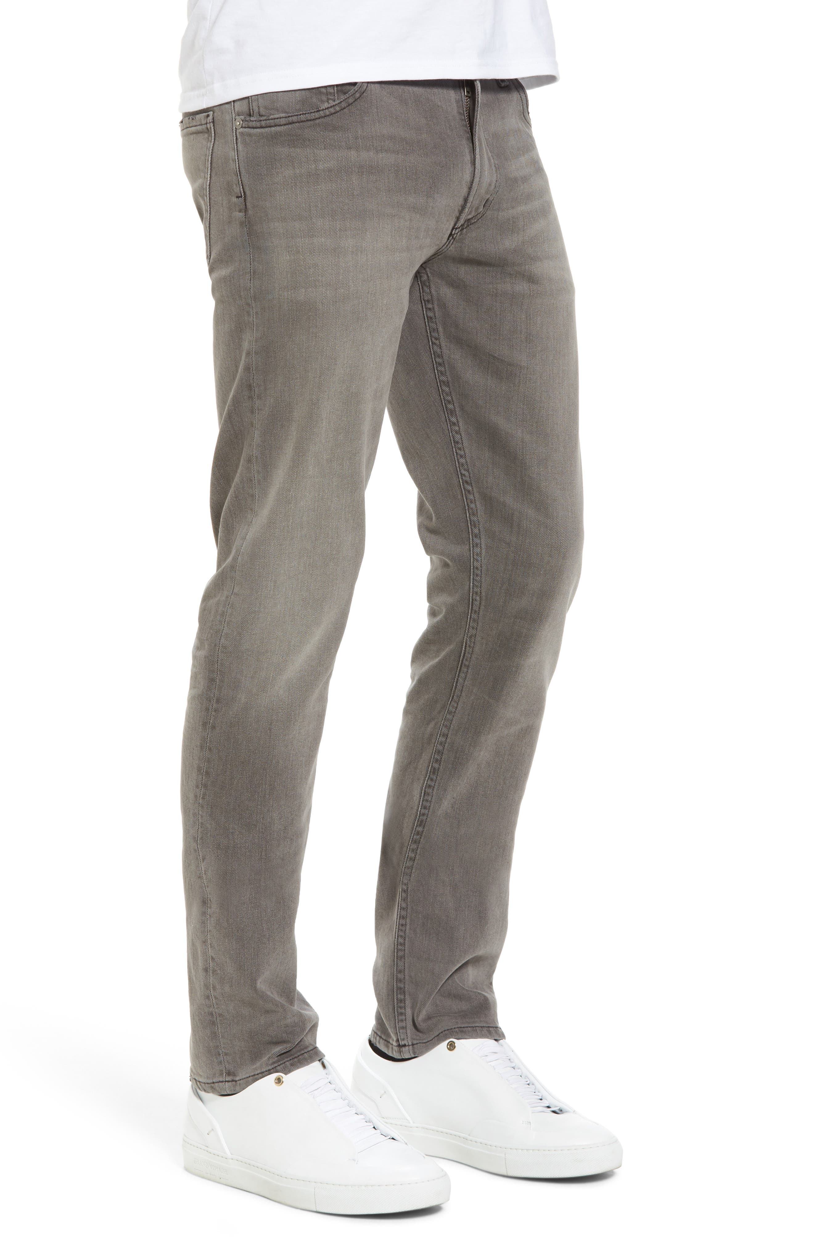 Bowery Slim Fit Jeans,                             Alternate thumbnail 3, color,                             LEON