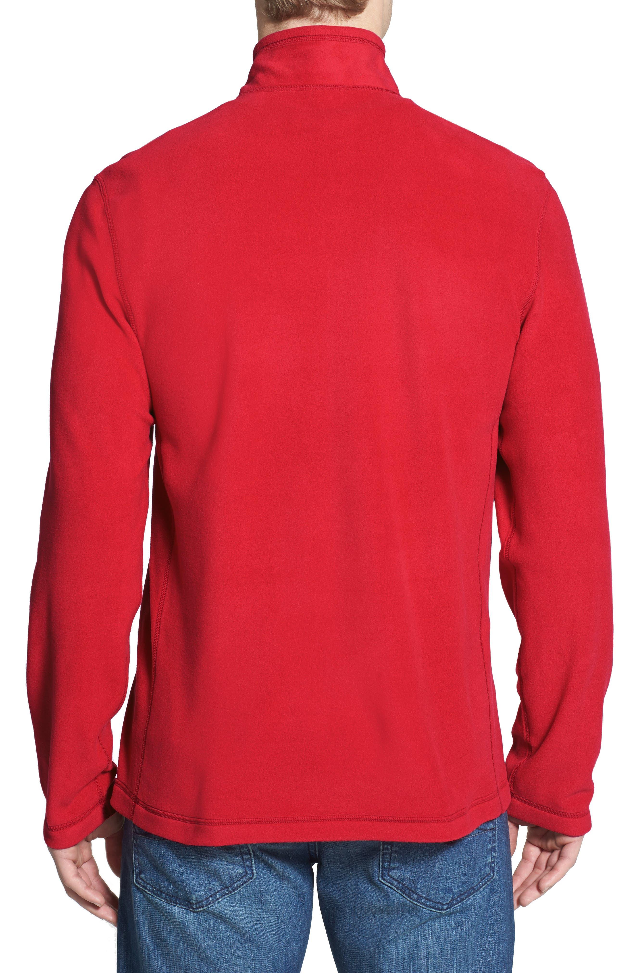 'TKA 100 Glacier' Quarter Zip Fleece Pullover,                             Alternate thumbnail 58, color,