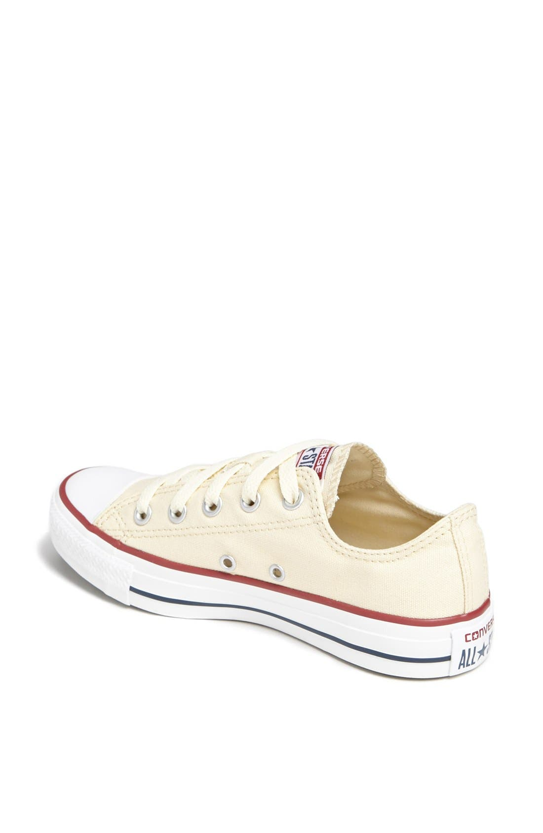 CONVERSE,                             Chuck Taylor<sup>®</sup> All Star<sup>®</sup> 'Ox' Sneaker,                             Alternate thumbnail 4, color,                             100