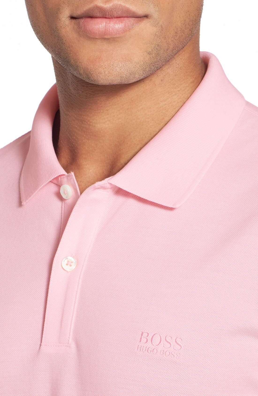 'Pallas' Regular Fit Logo Embroidered Polo Shirt,                             Alternate thumbnail 68, color,