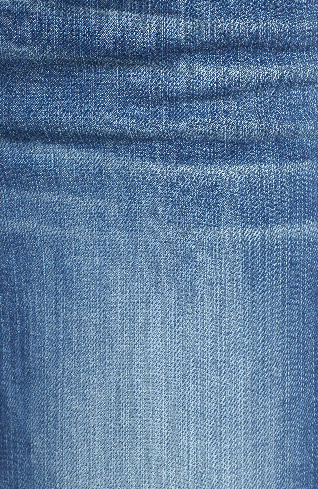 'Diana' Stretch Skinny Jeans,                             Alternate thumbnail 4, color,                             402