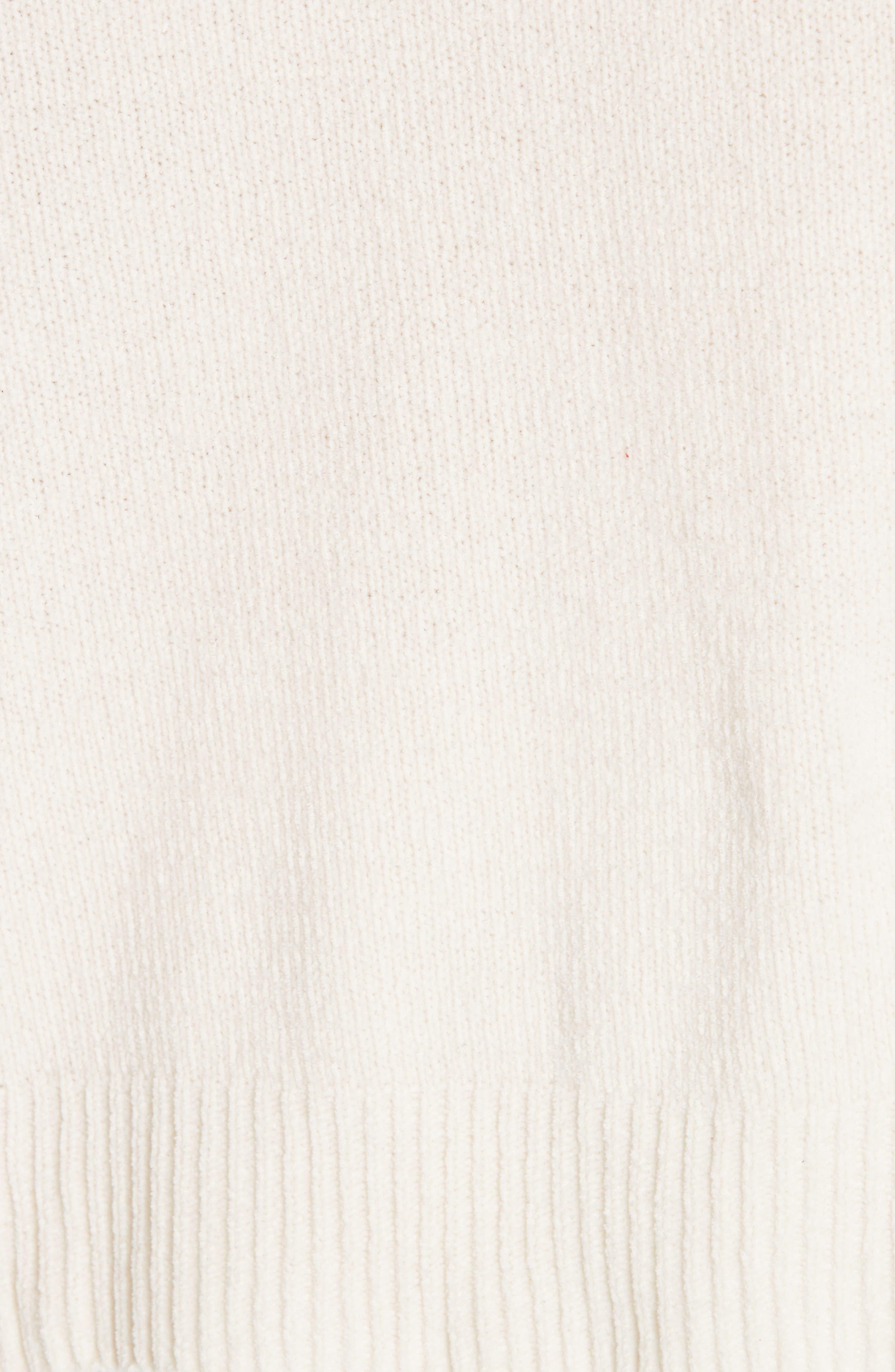 Organic Cotton Chenille Hoodie,                             Alternate thumbnail 5, color,                             103