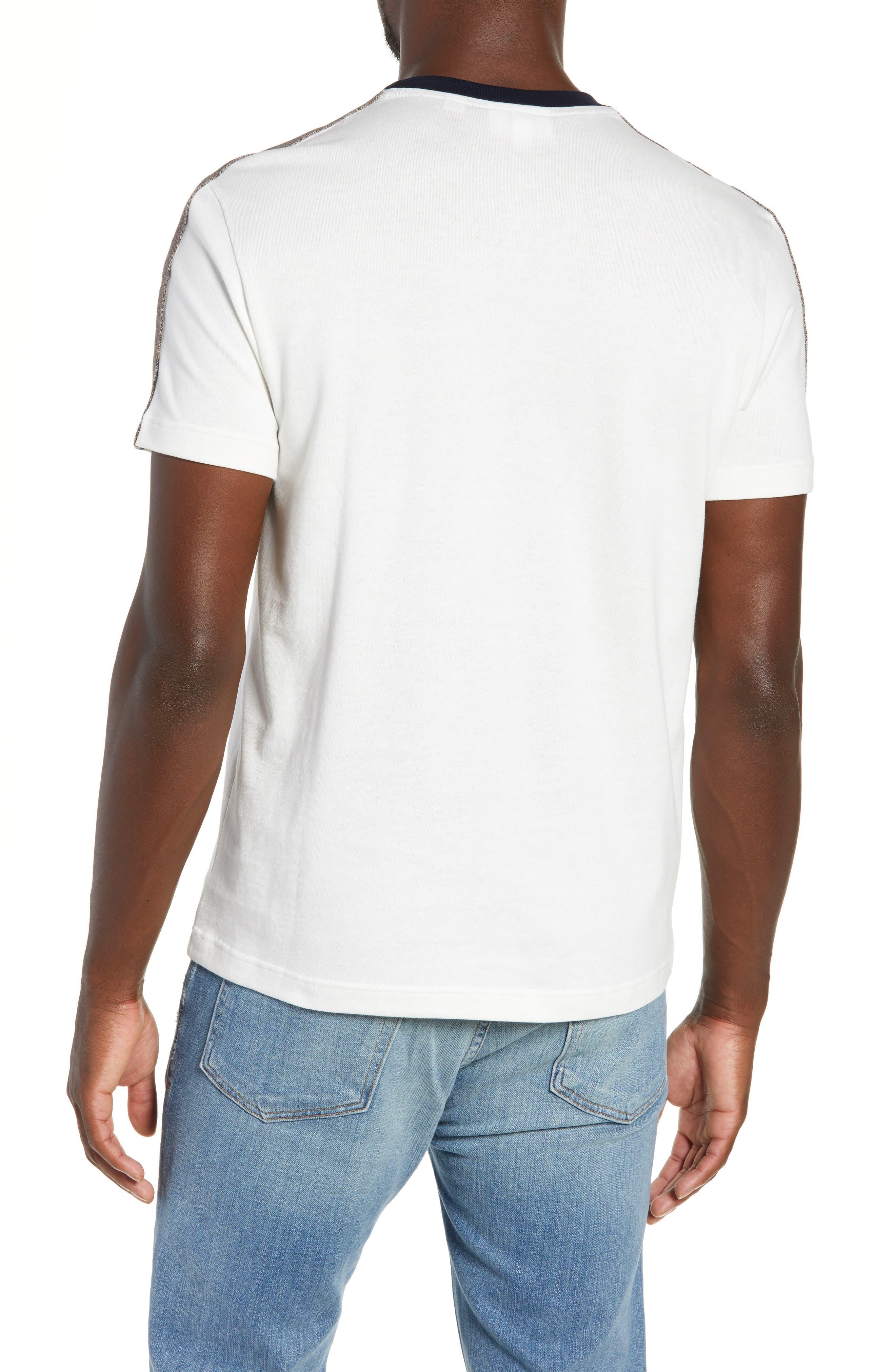 Regular Fit Contrast Jersey T-Shirt,                             Alternate thumbnail 2, color,                             104