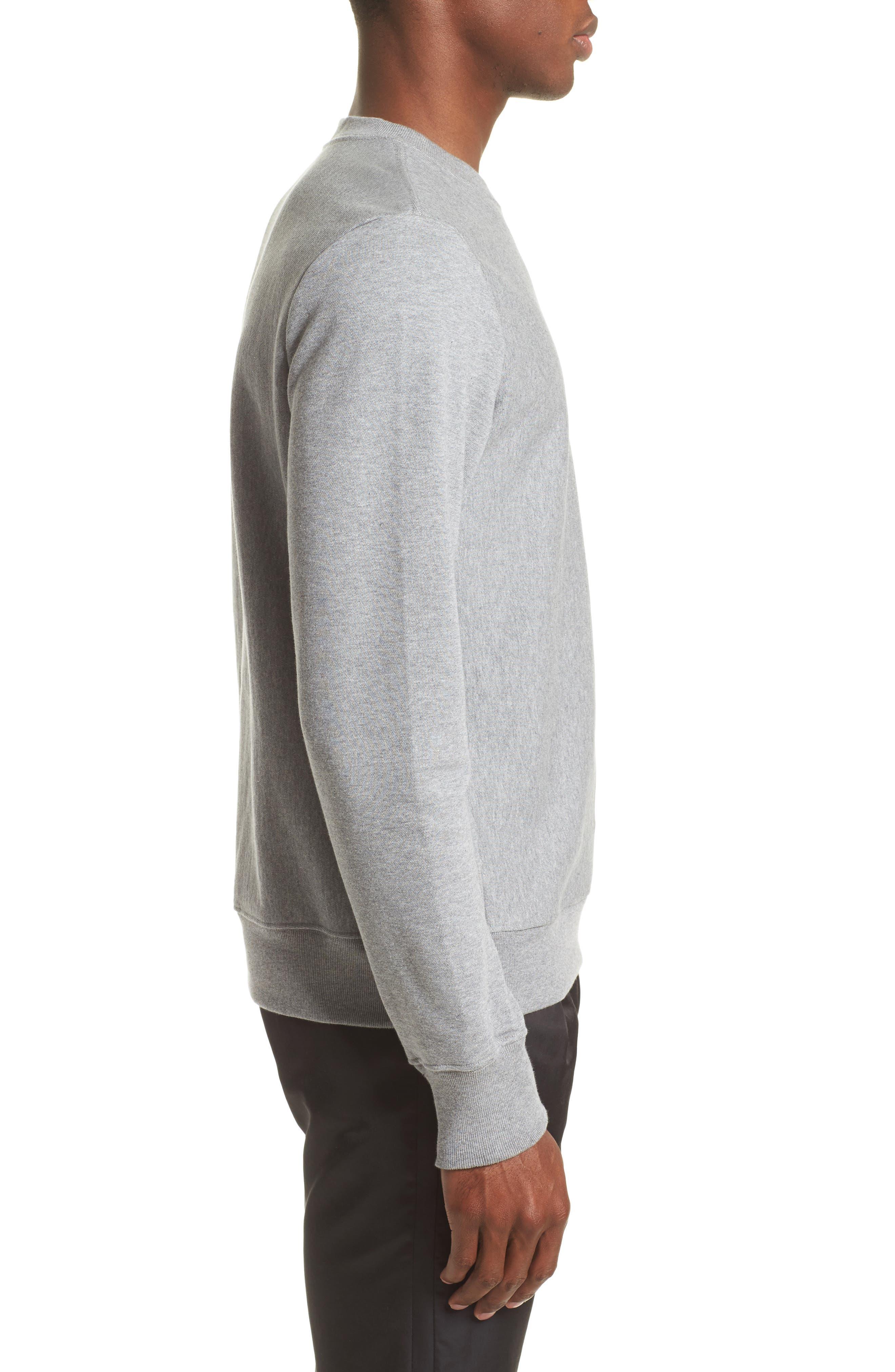 Classic Crewneck Sweatshirt,                             Alternate thumbnail 3, color,                             037