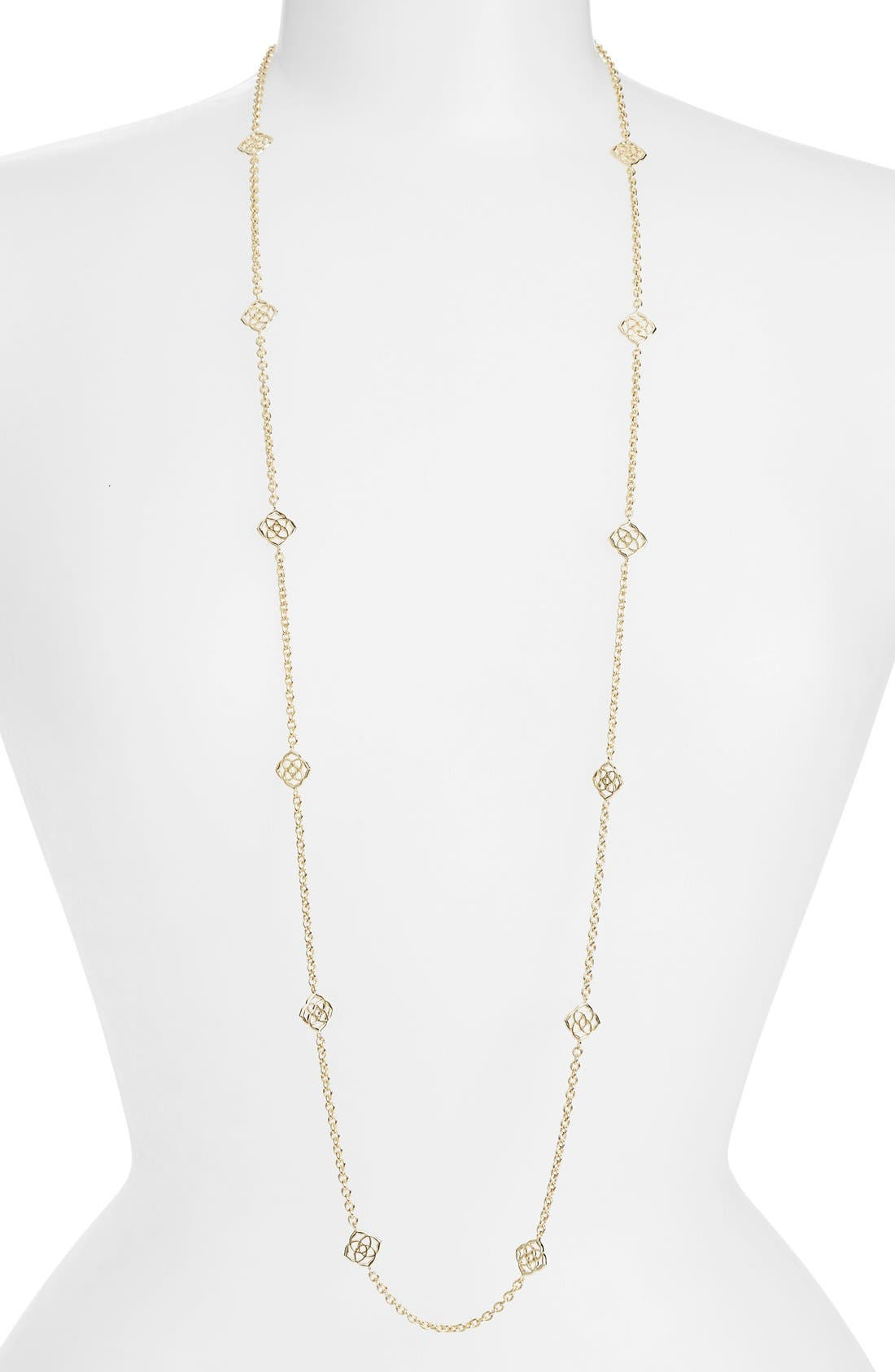 'Devalyn' Long Station Necklace,                         Main,                         color, 710