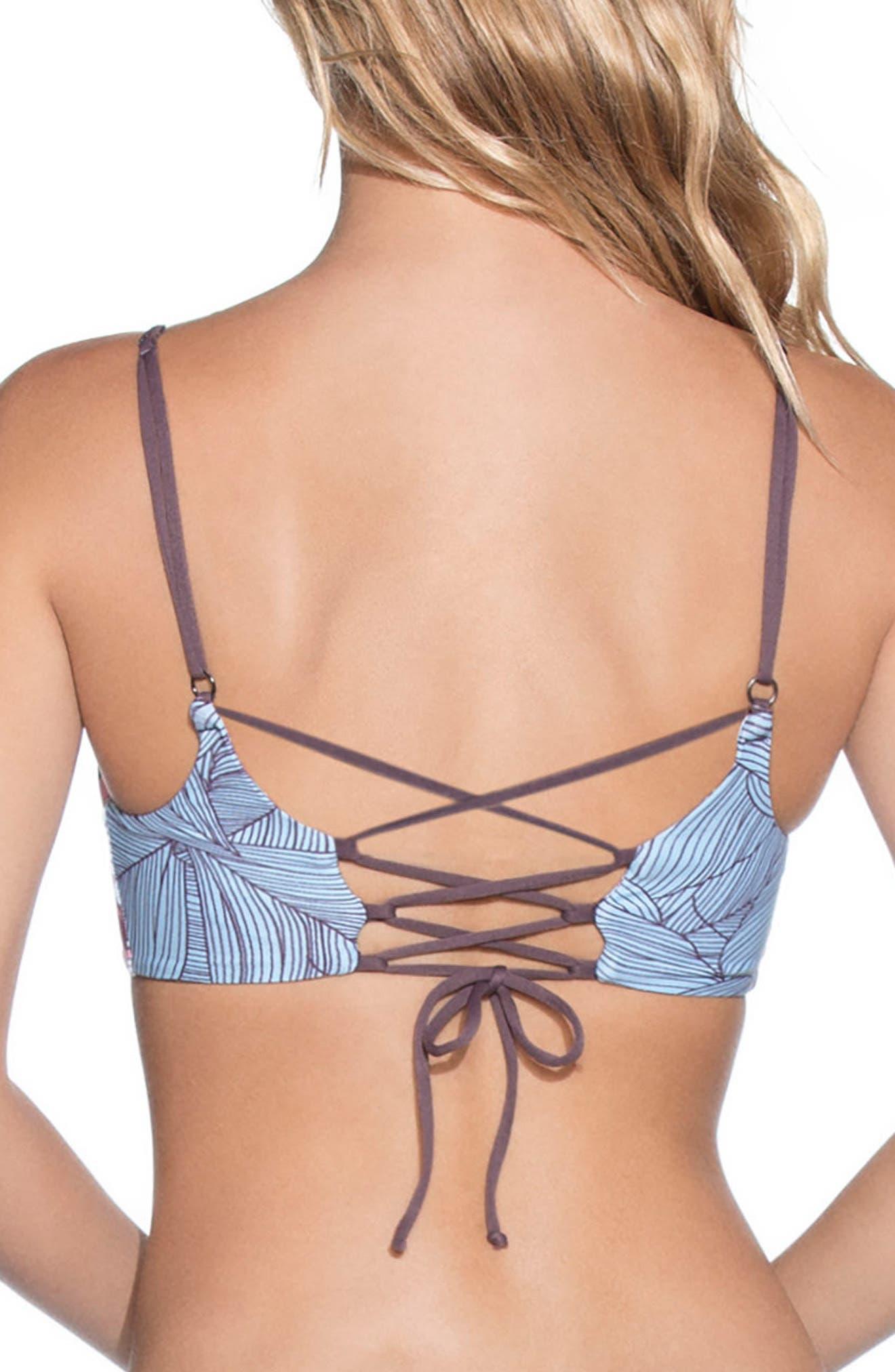 Providence Island Reversible Bikini Top,                             Alternate thumbnail 2, color,                             400